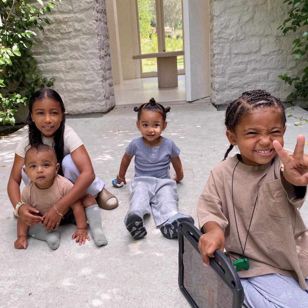 Kim Kardashian West hijos