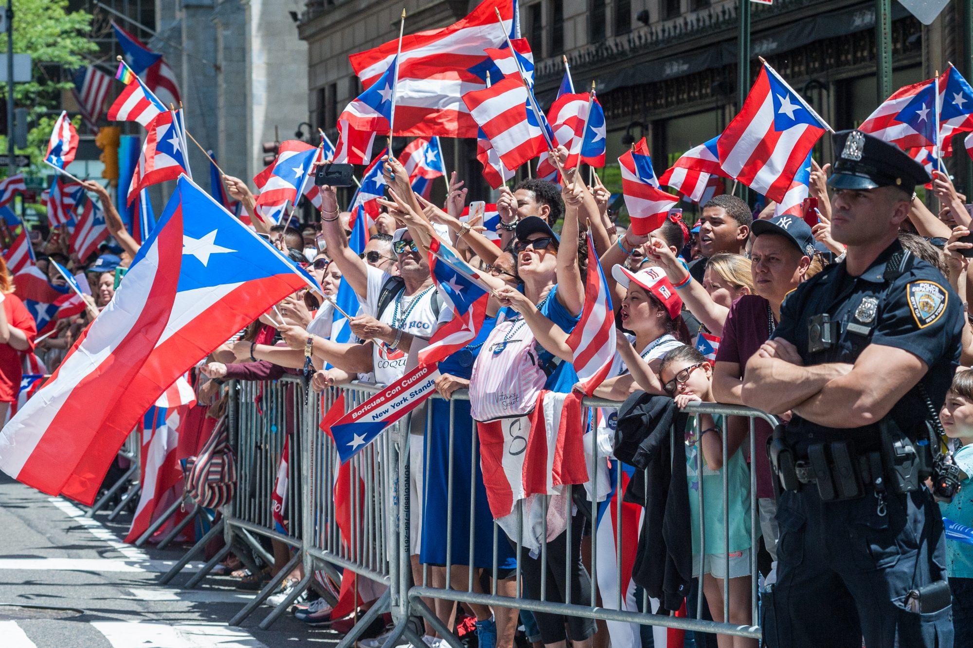 Desfile de Puerto Rico en Nueva York