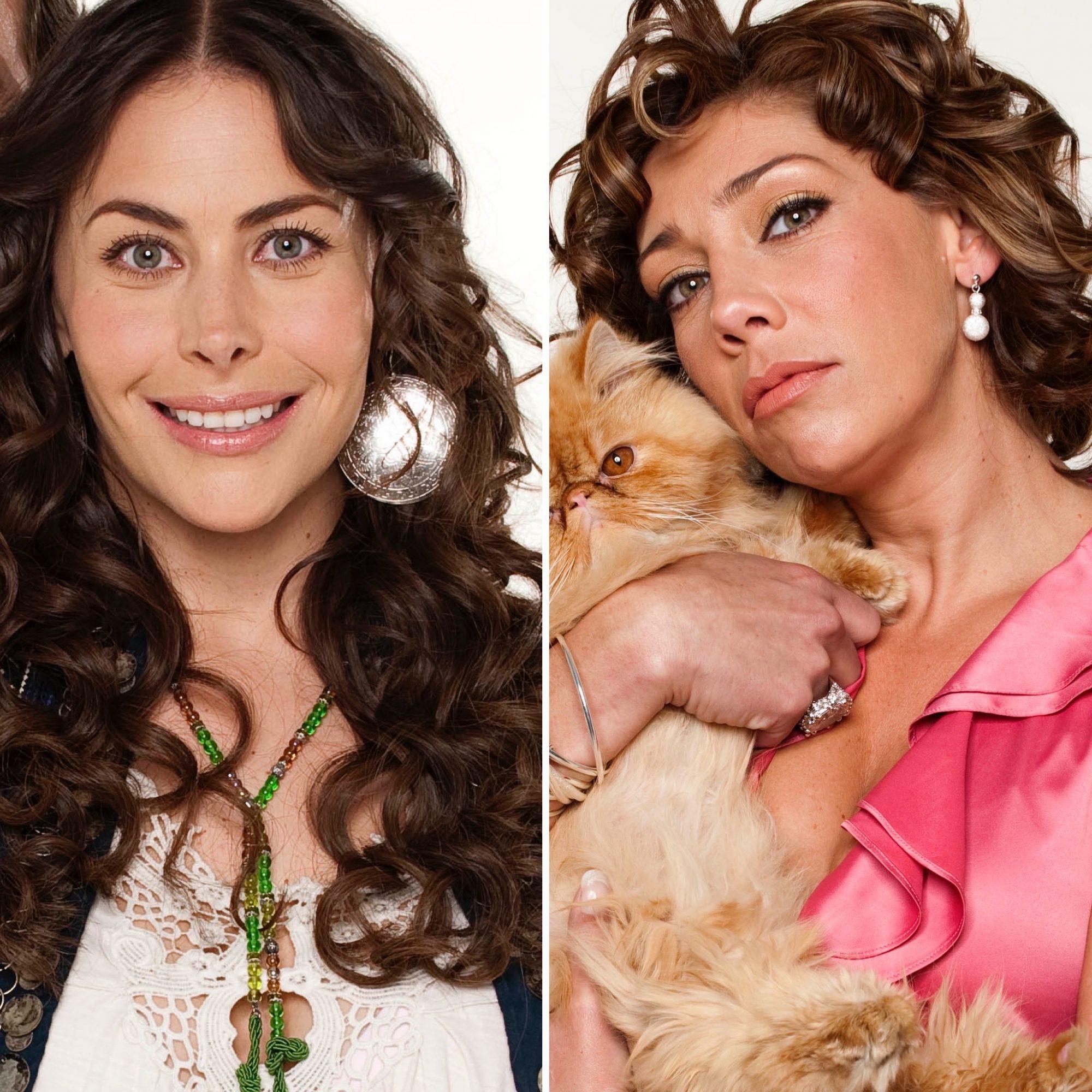 Vanessa Guzmán y Cynthia Klitbo en Atrévete a soñar