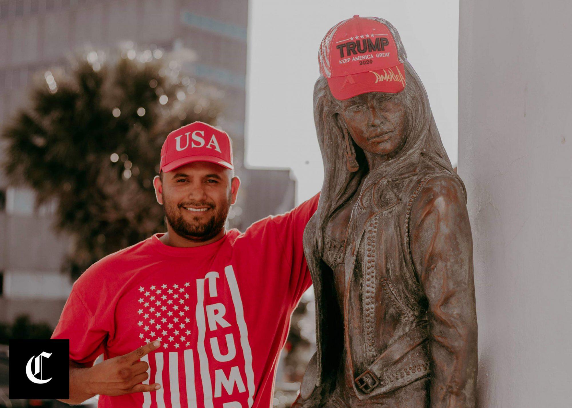 Selena Statue Maga Hat