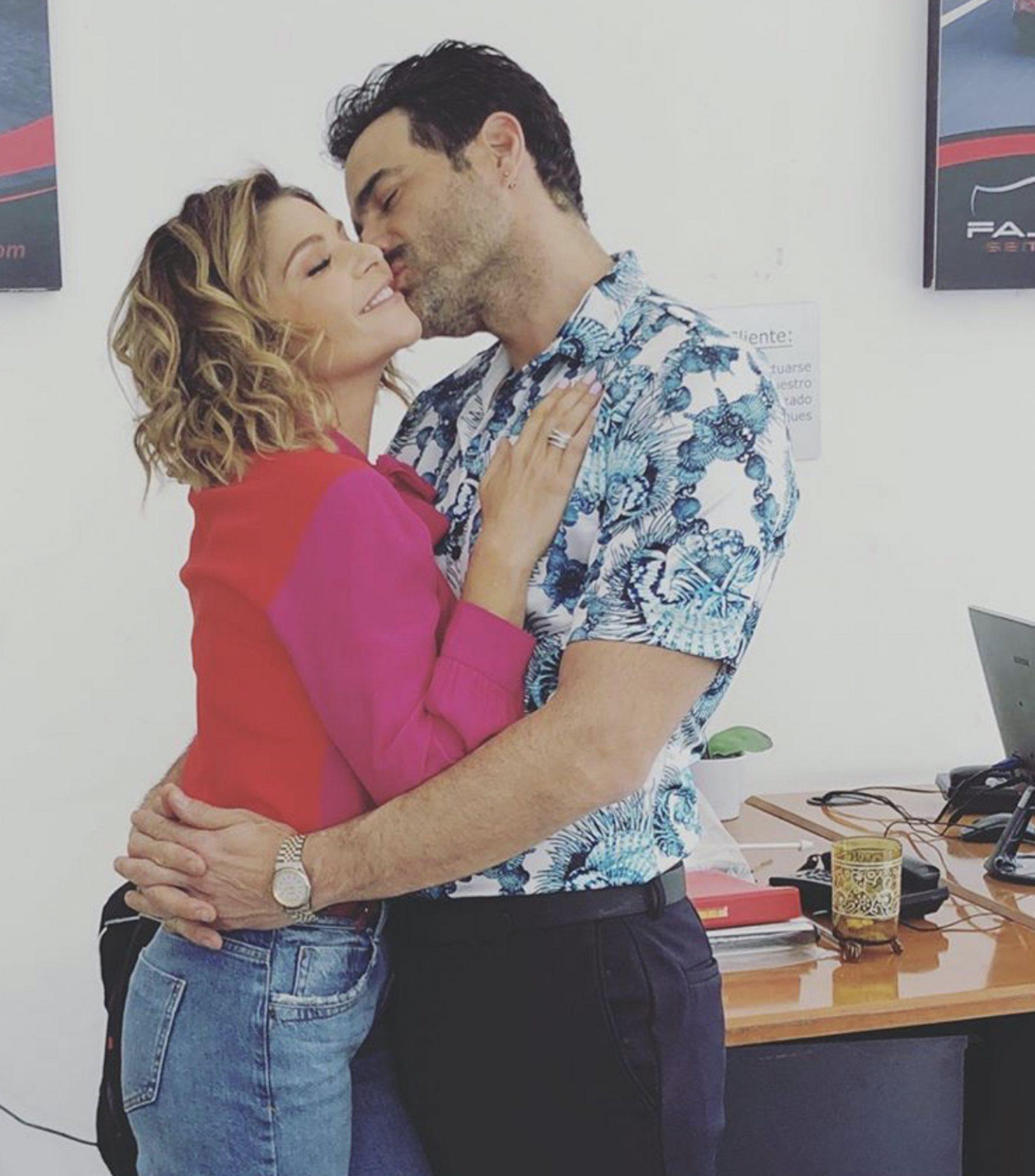 Itatí Cantoral y Luis Roberto Guzmán