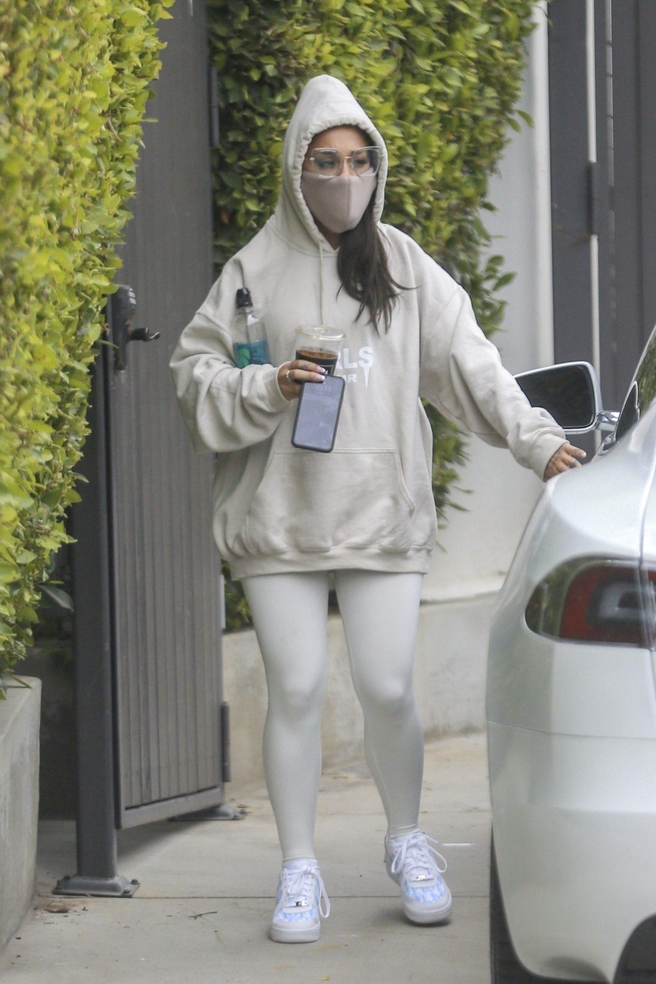 Ariana Grande look, cuarentena