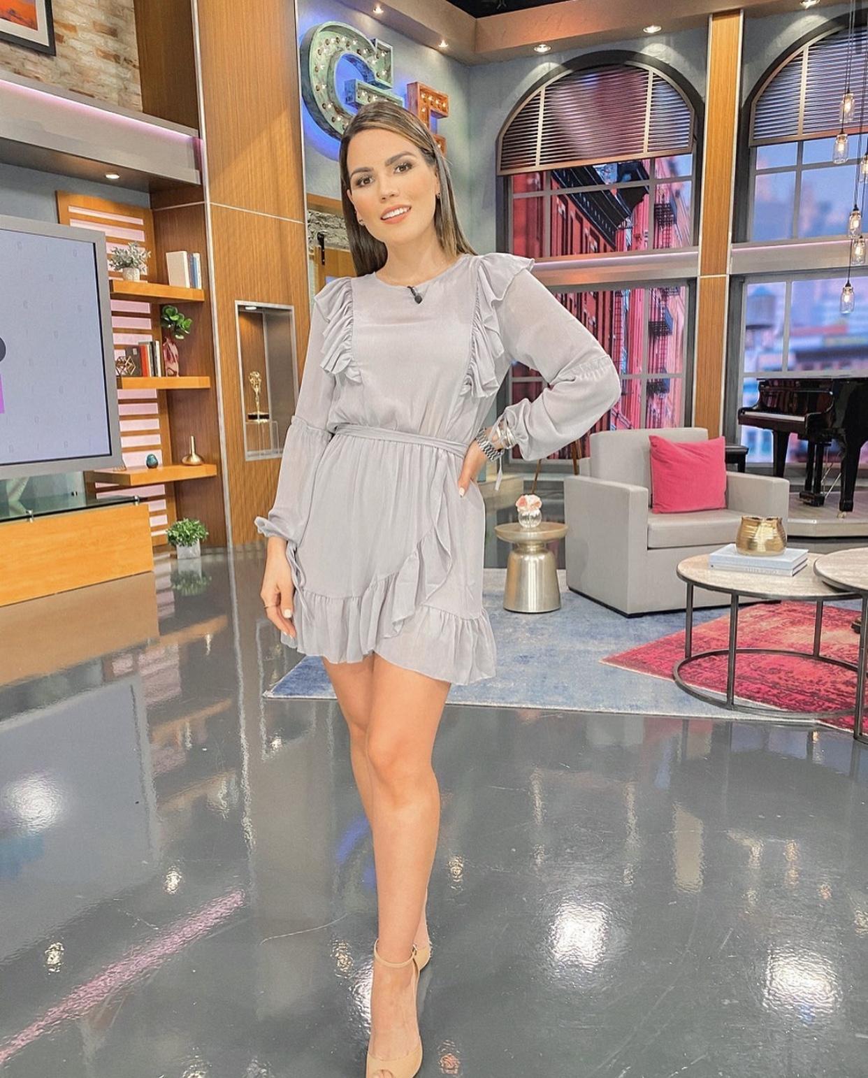 Karina Banda look, cuarentena