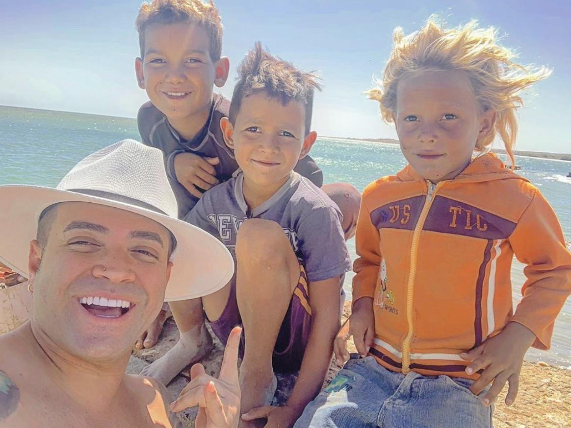 Nacho y sus hijos