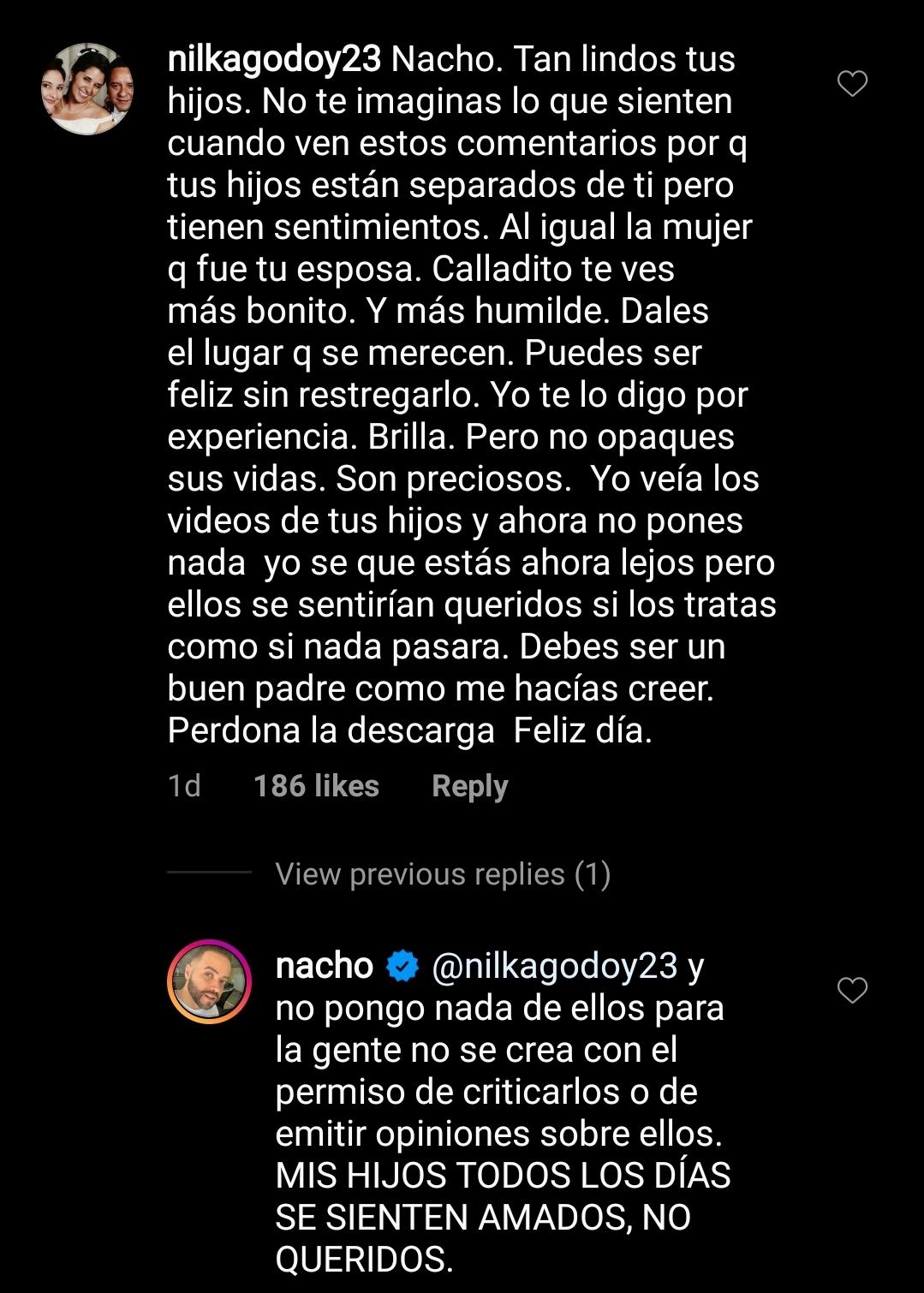 Nacho comentario