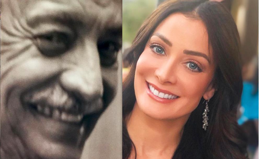 Dayanara Torres y su papá Jose Torres