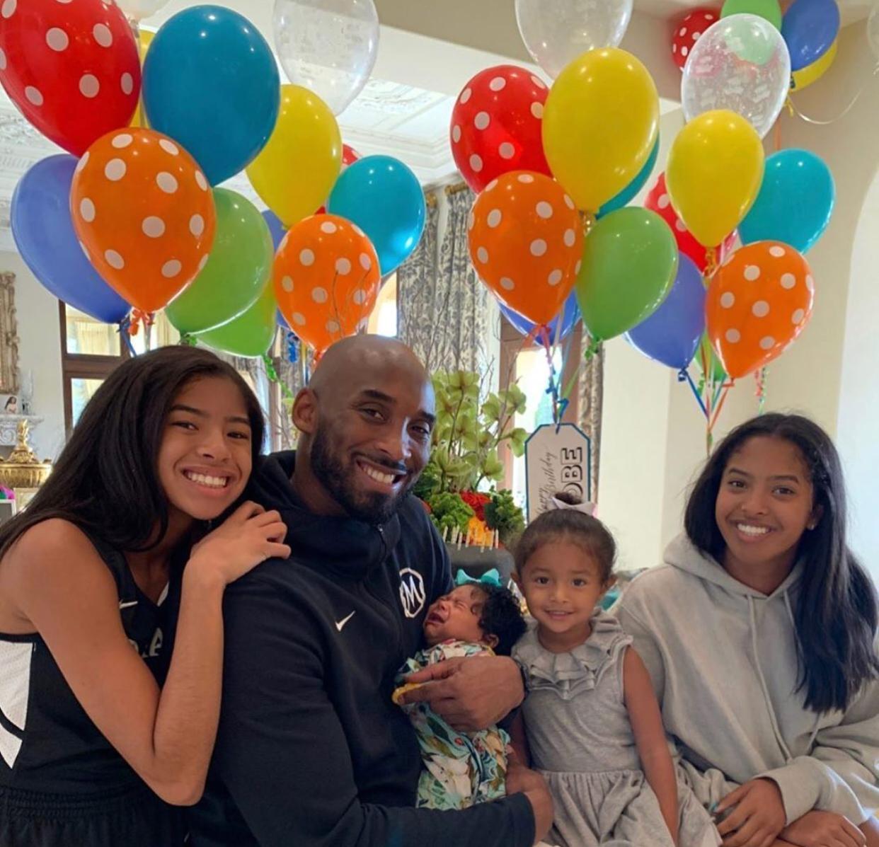 Kobe Bryant hijas