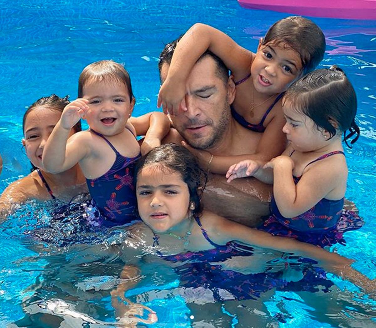 Martin Fuentes hijas Jacky Bracamontes