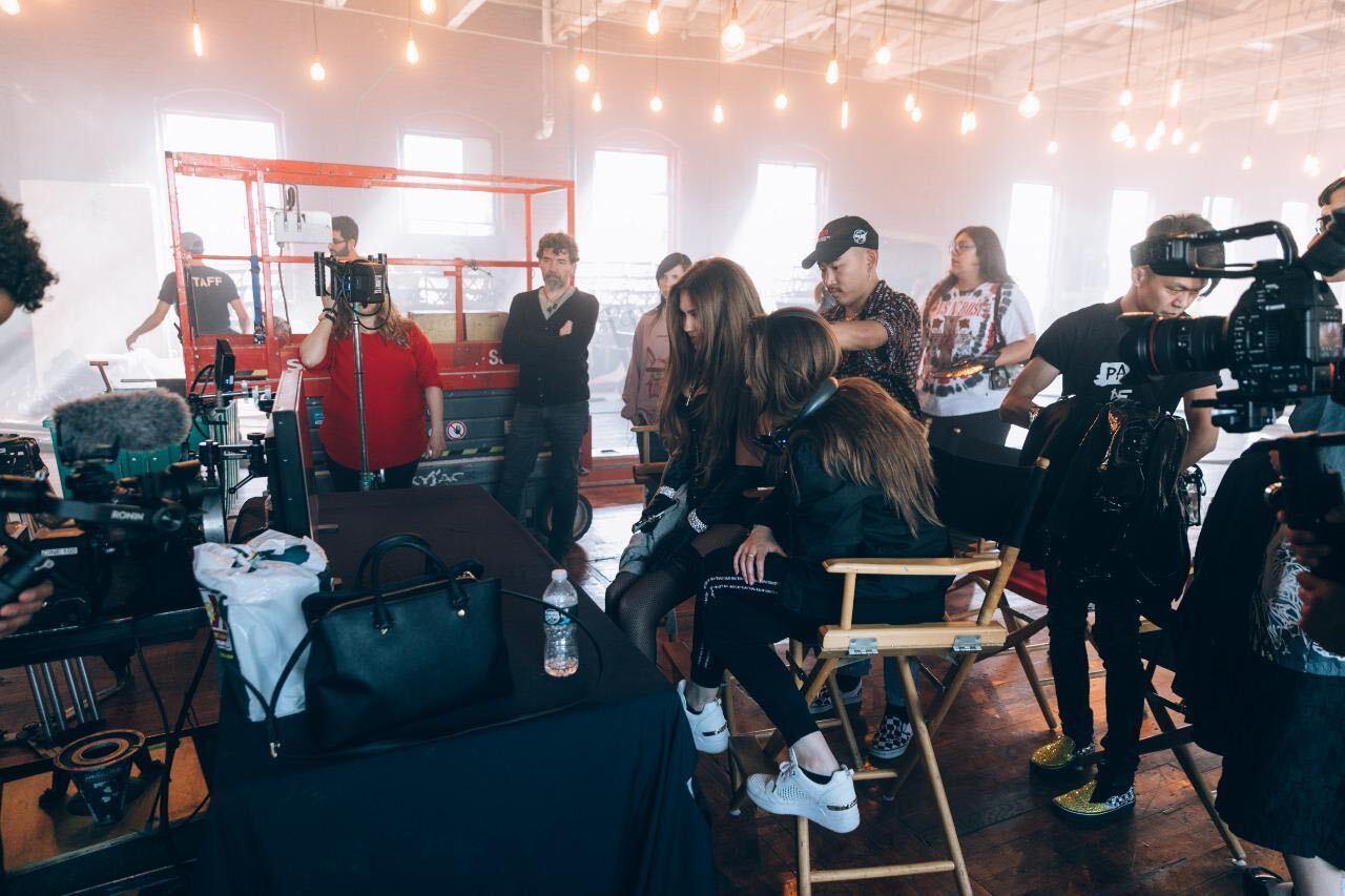 Thalia bts video