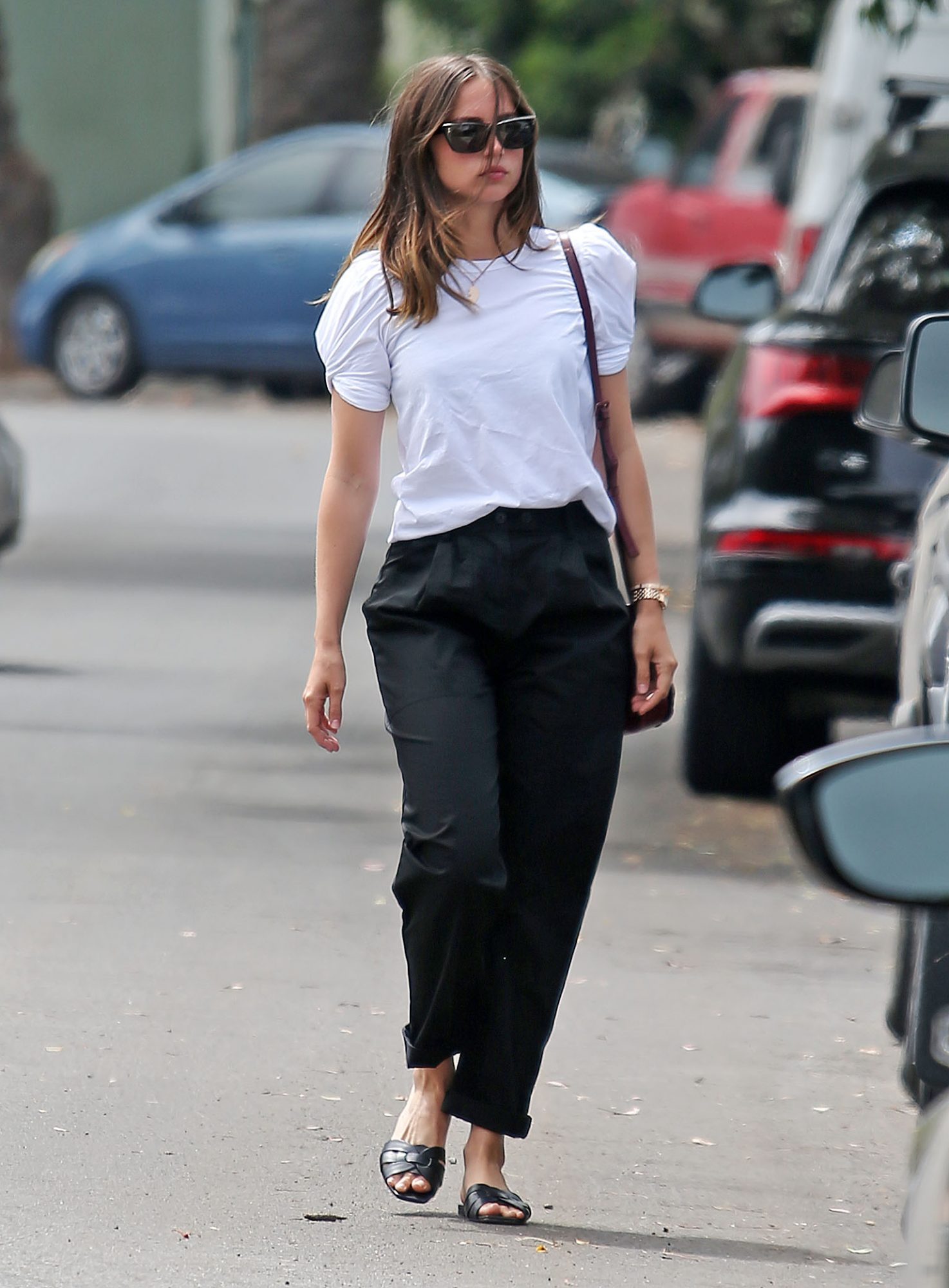 Ana de Armas, look, Los Angeles