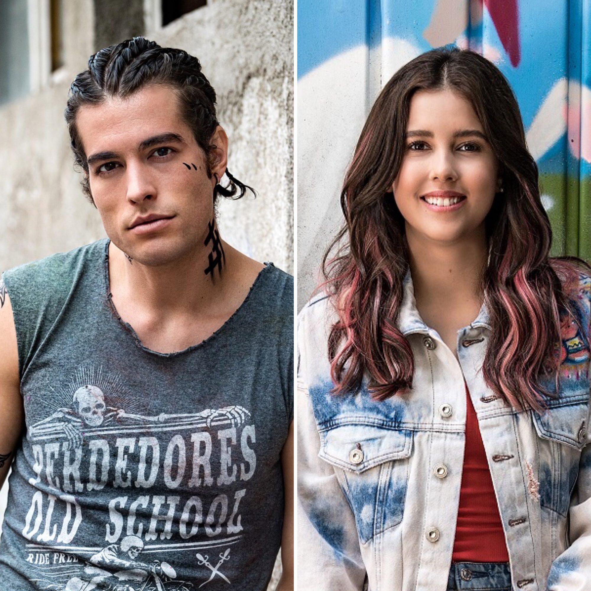 Danilo Carrera y Paulina Goto
