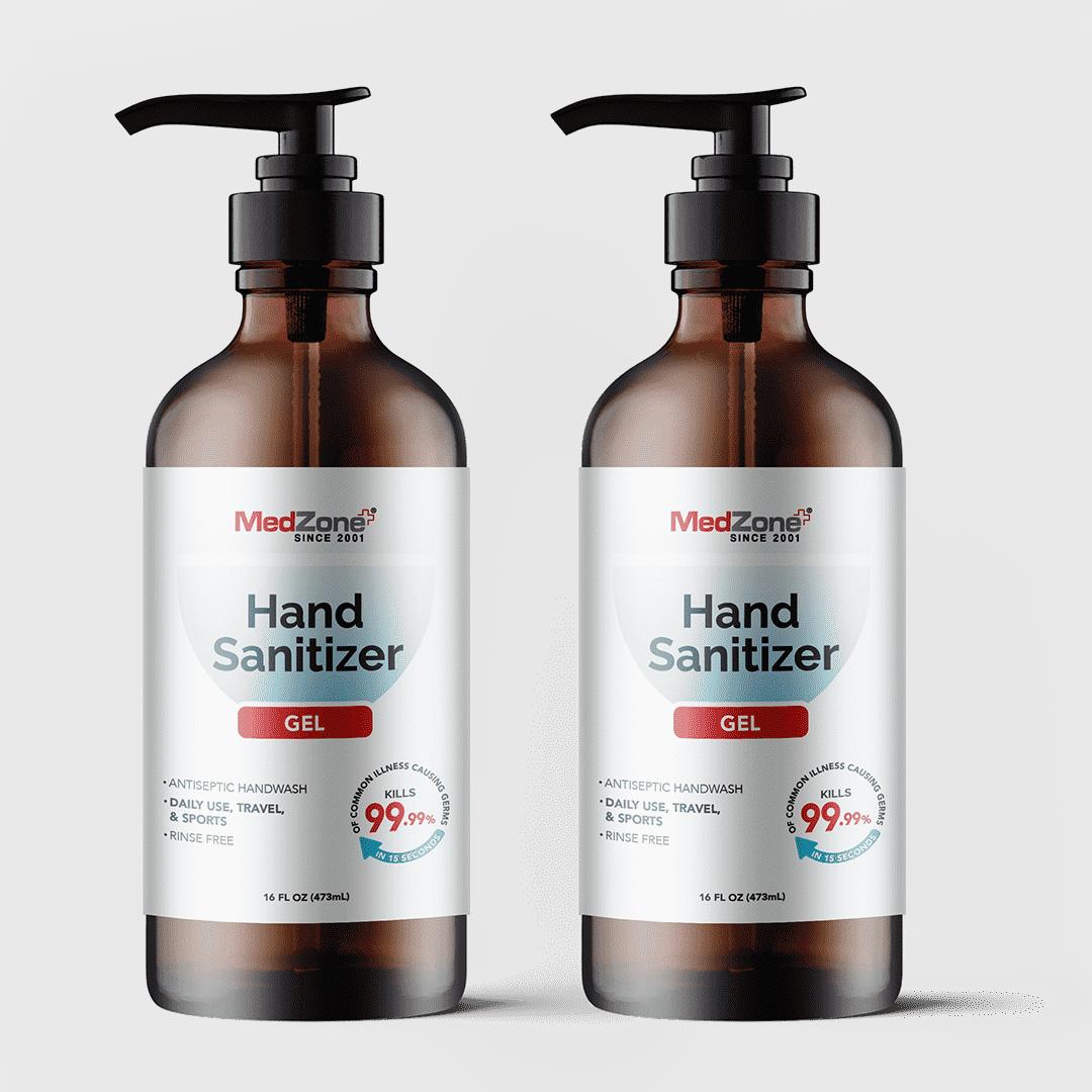 MedZone hand sanitizer