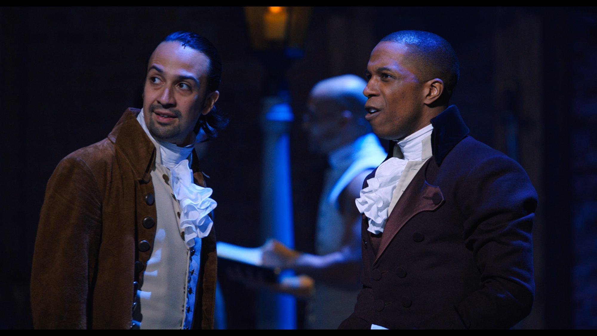 Una escena de la obra Hamilton