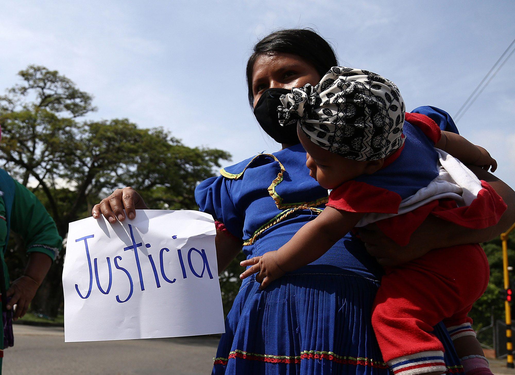Embera-Chami child rape Colombia