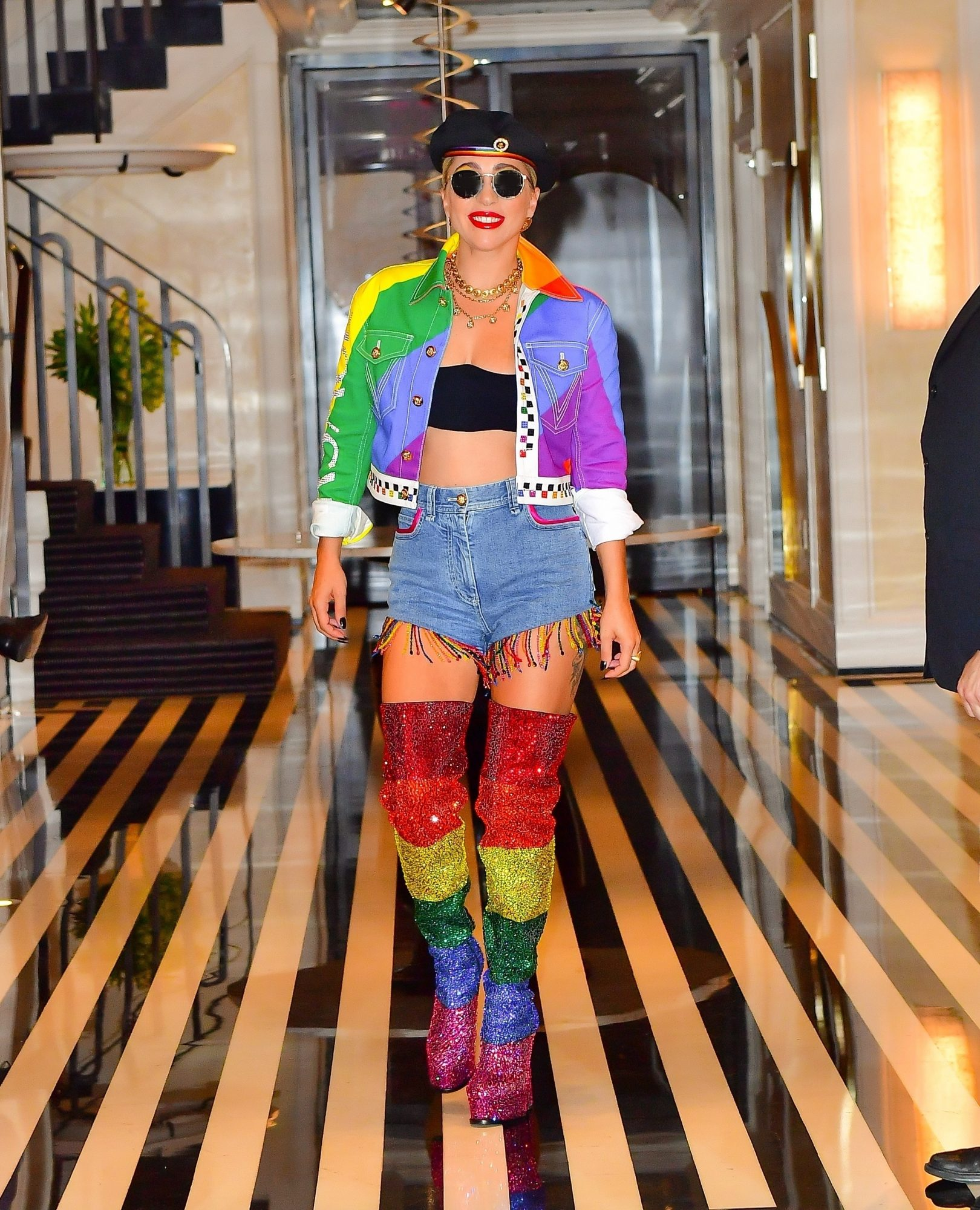 Lady Gaga, look, pride, los angeles