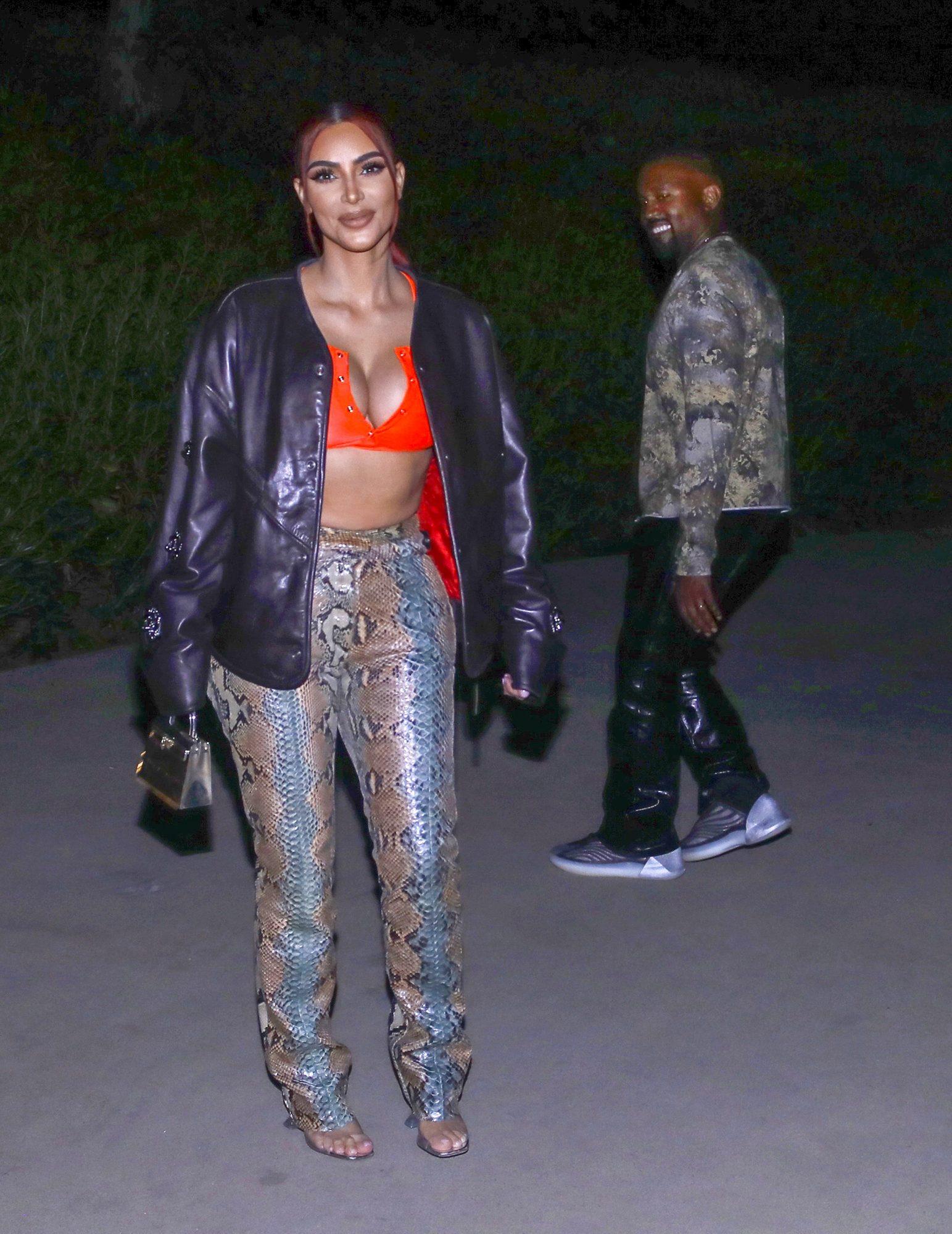Kim Kardashian, pelirroja, nuevo look