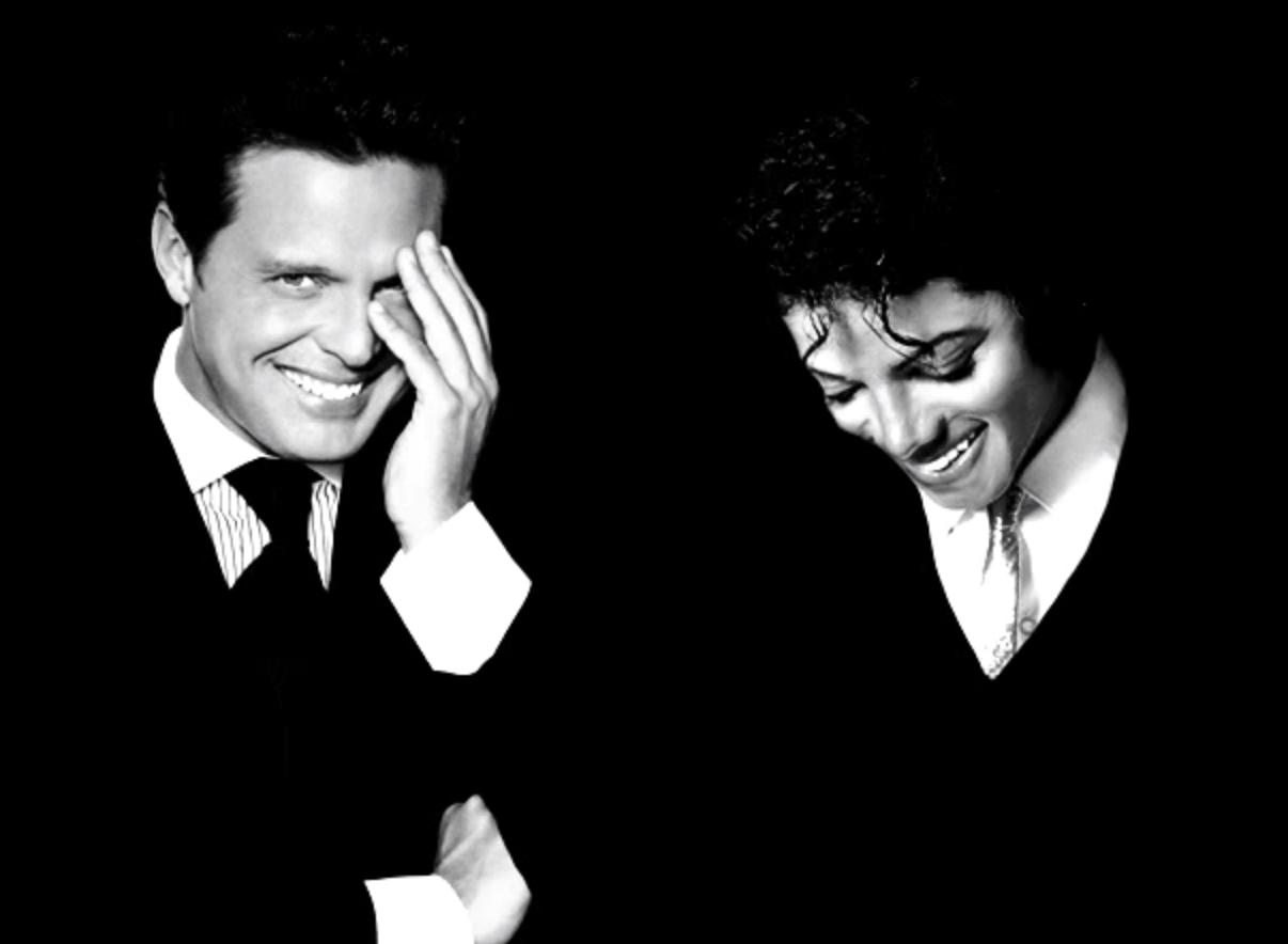 Luis Miguel y Michael Jackson
