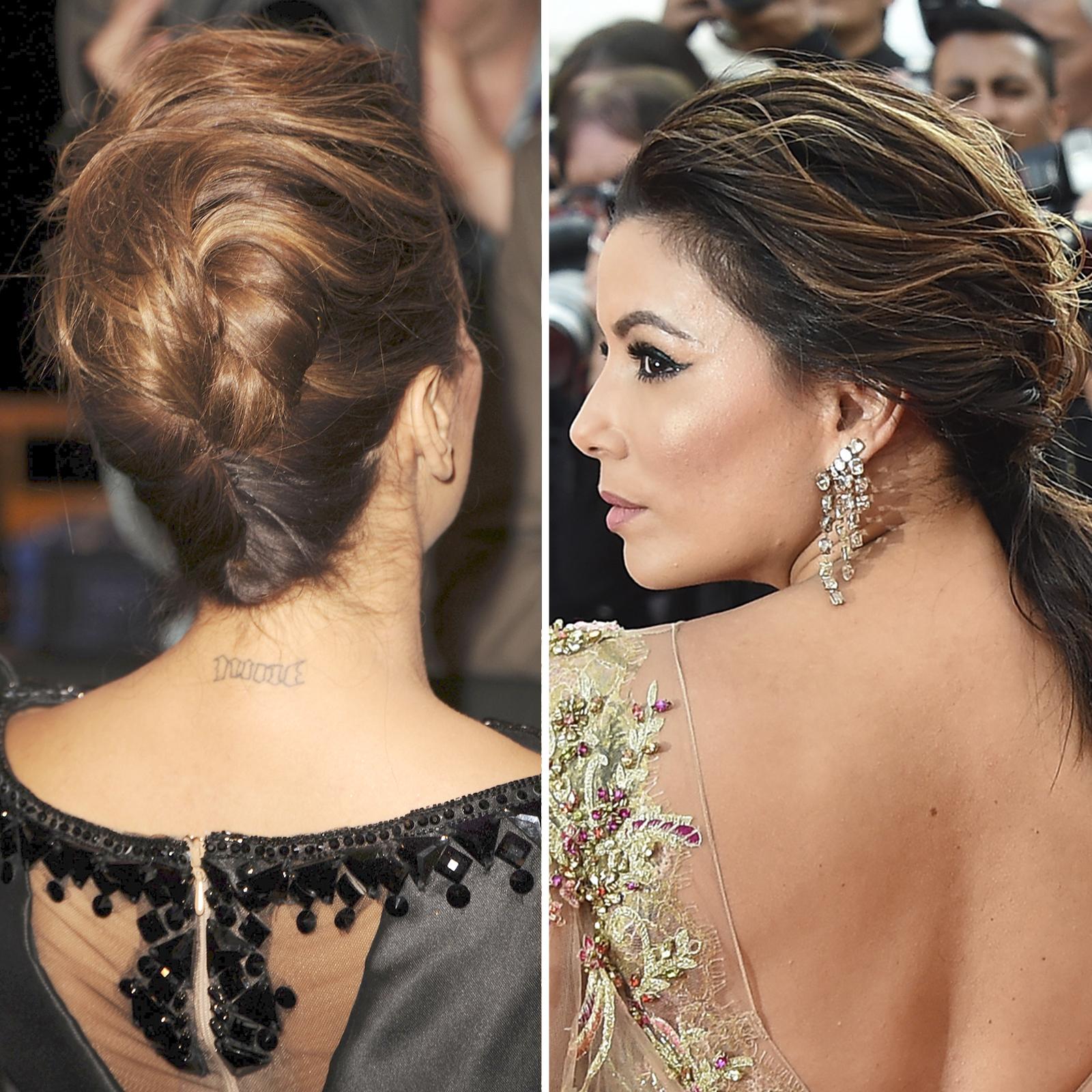 Eva Longoria tattoo cover