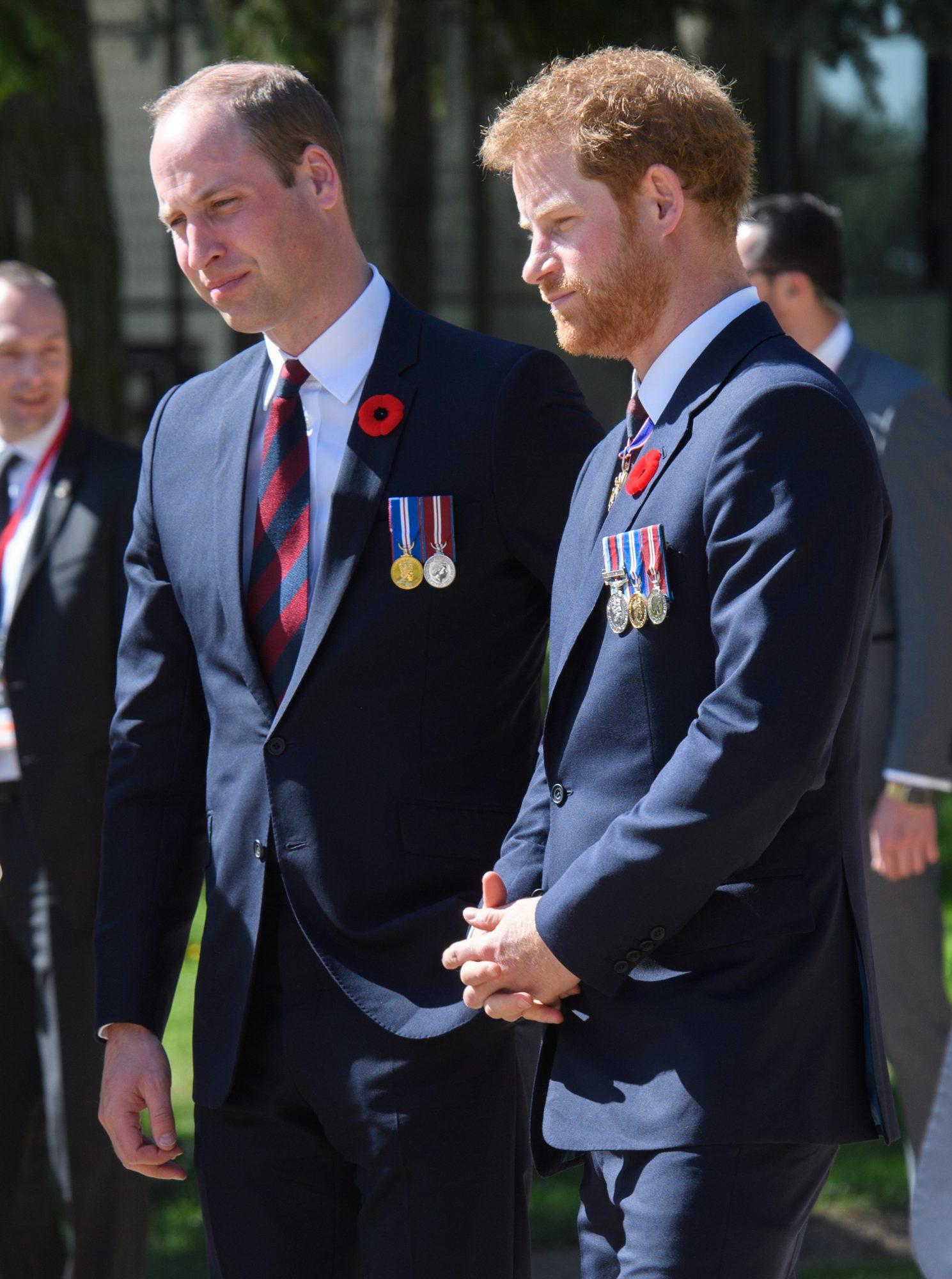 Príncipe William, príncipe Harry