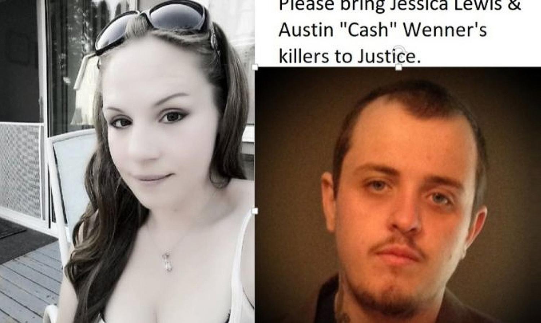 Jessica Lewis y Austin Cash Wenner