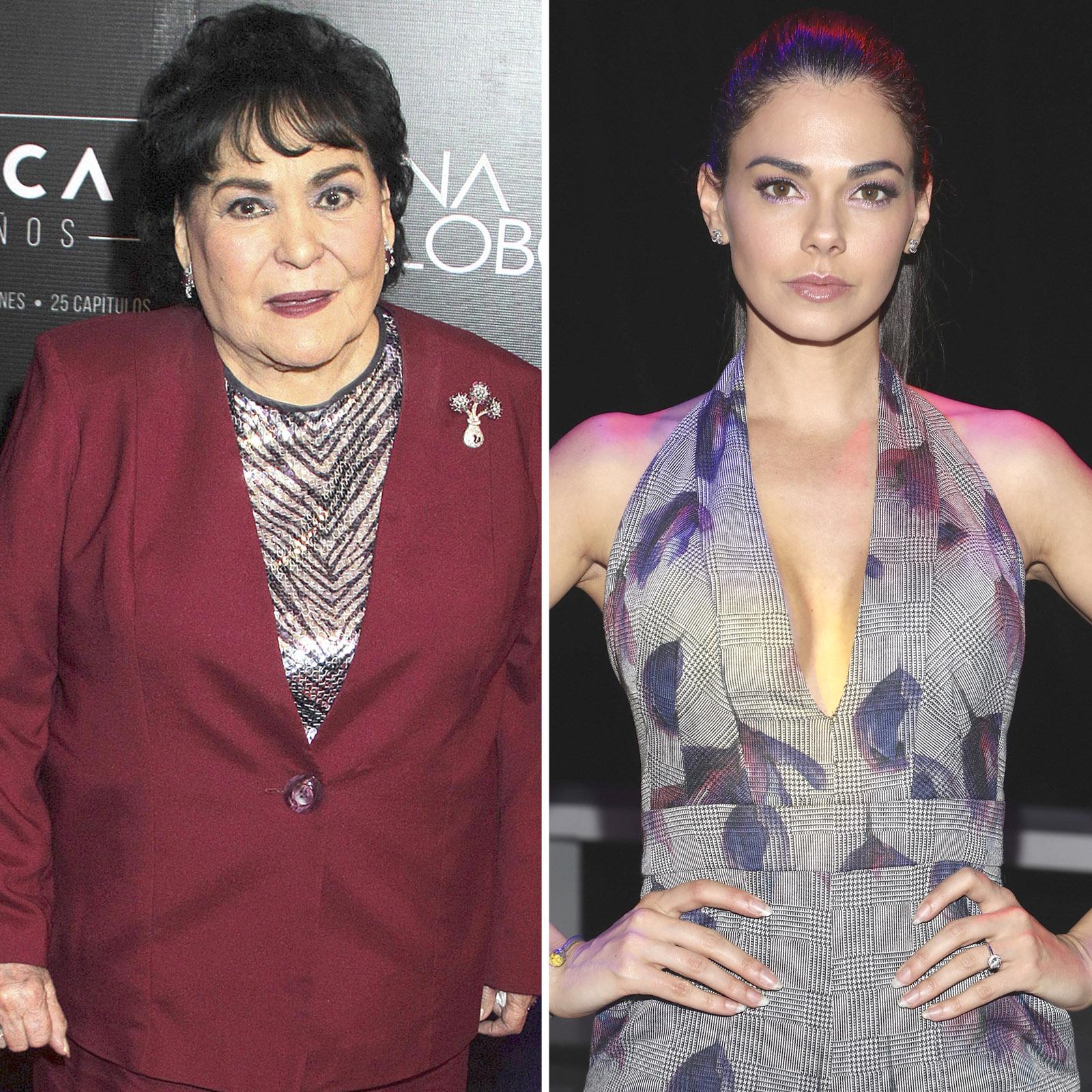 Carmen Salinas y Livia Brito