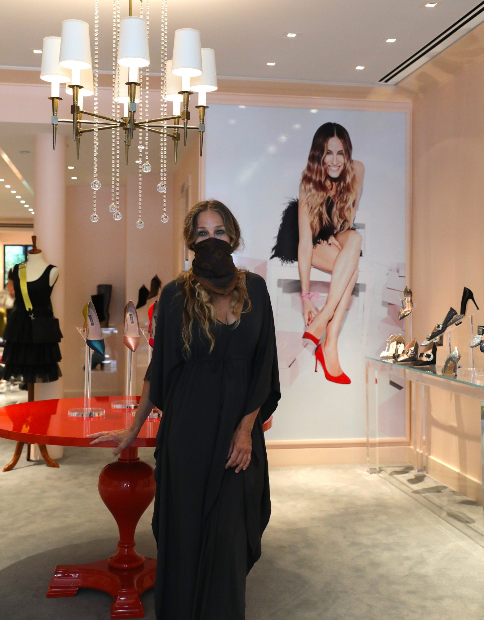 Sarah jessica parker, zapatos, tienda, new york
