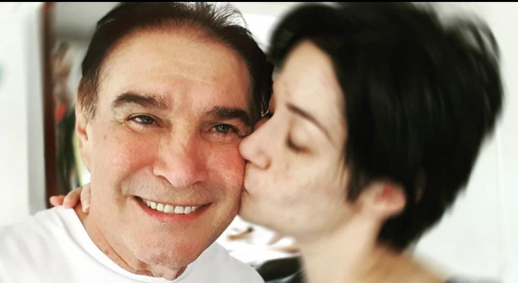 Daniel Alvarado y su hija Daniela