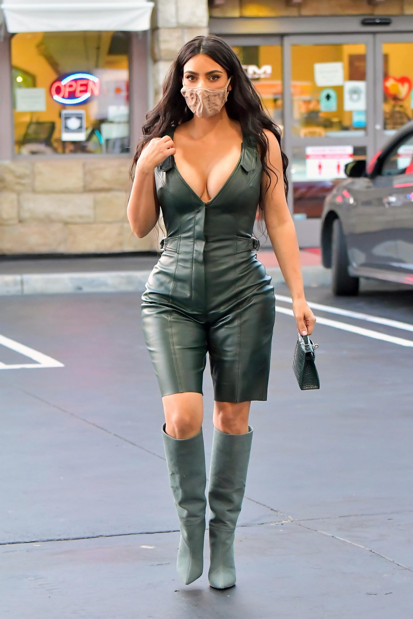 Kim Kardashian, look, los angeles, hollywood