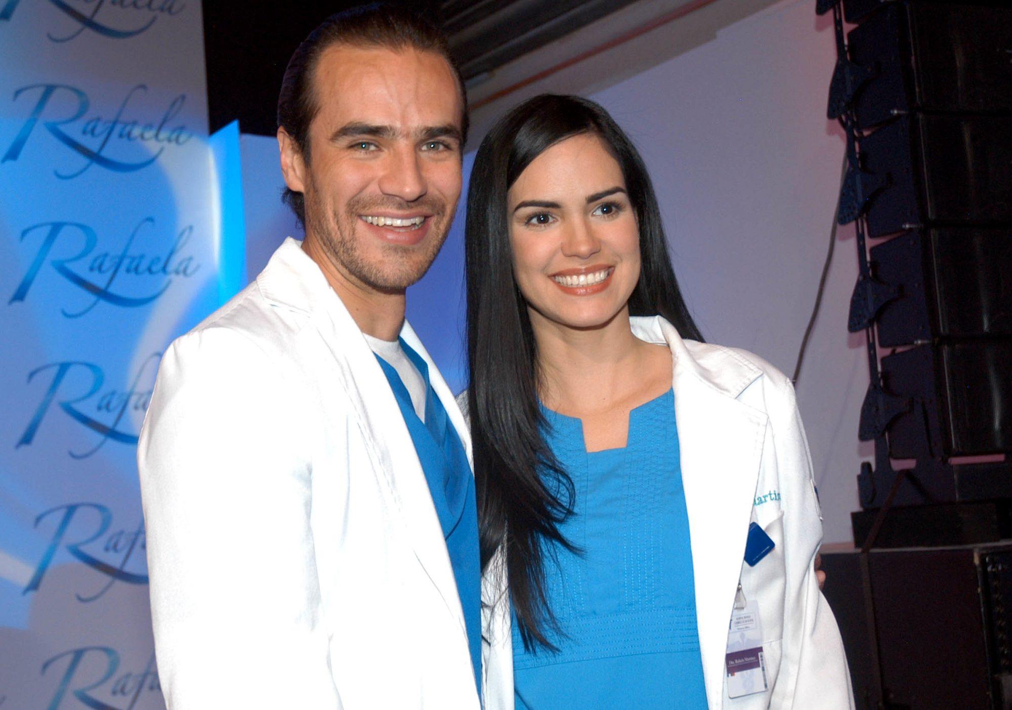 Scarlet Ortiz y Jorge Poza, protagonistas de Rafaela