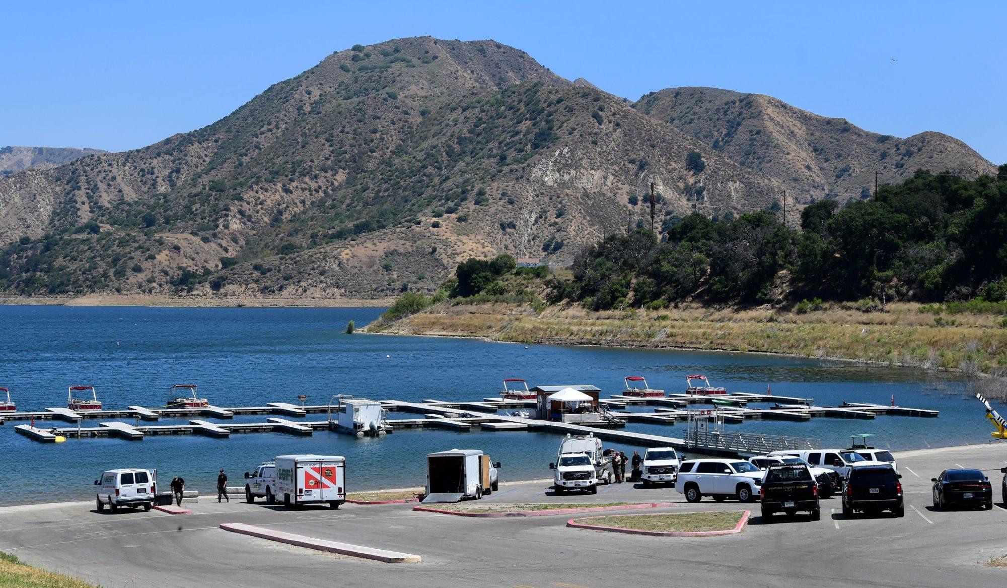 Naya Rivera; Lake Piru