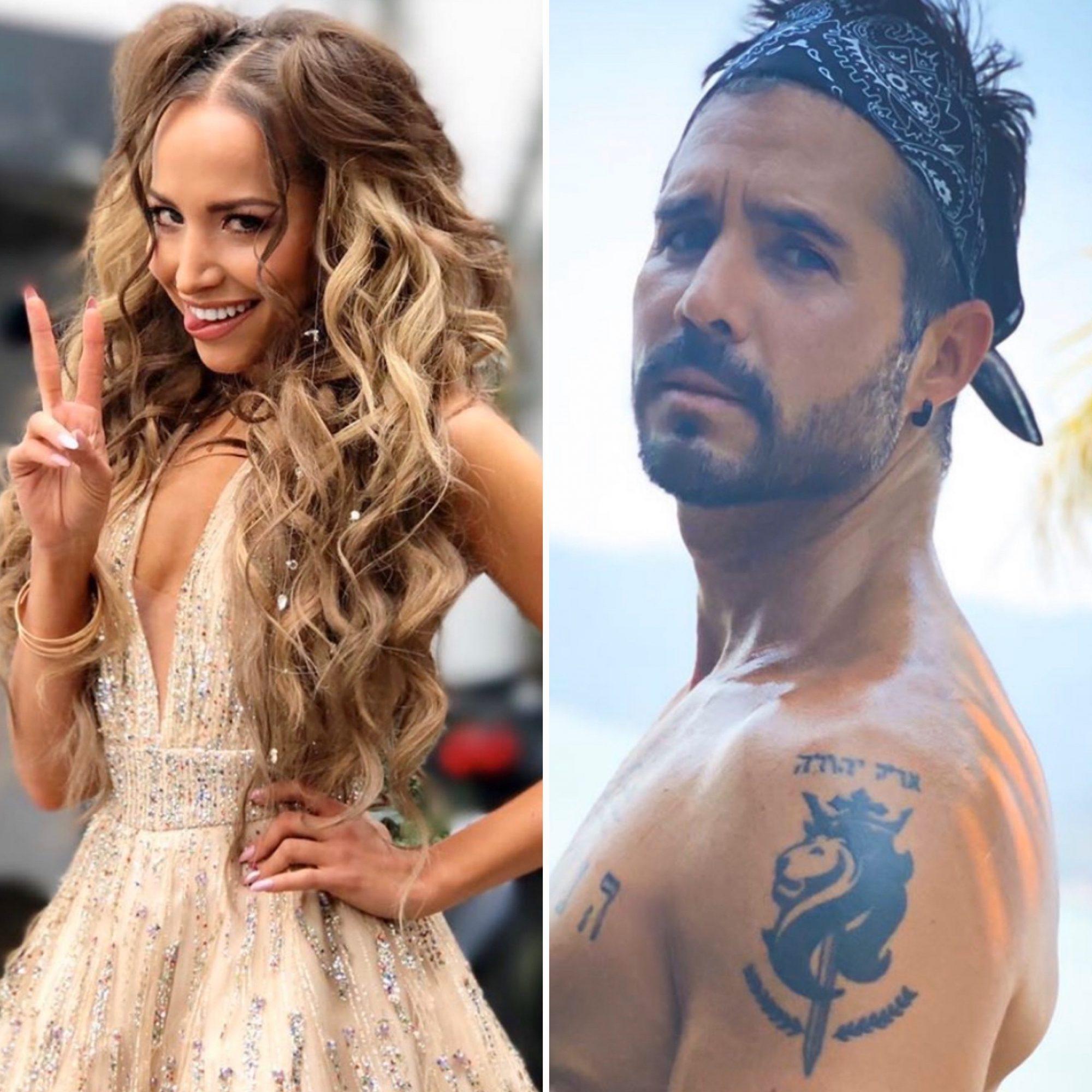 Jessica Díaz y José Ron
