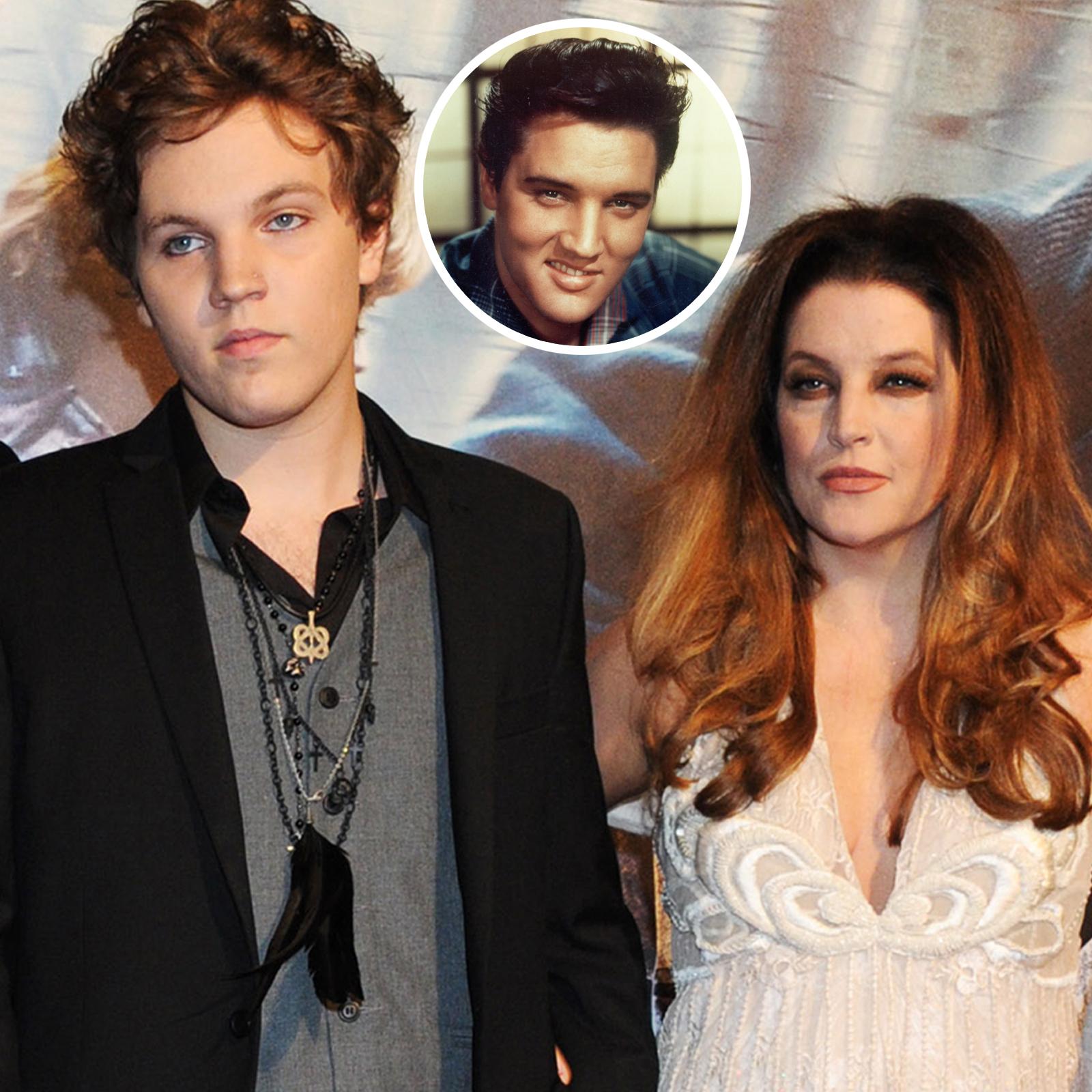 Benjamin Keough and mom Lisa Marie Presley, Elvis Presley