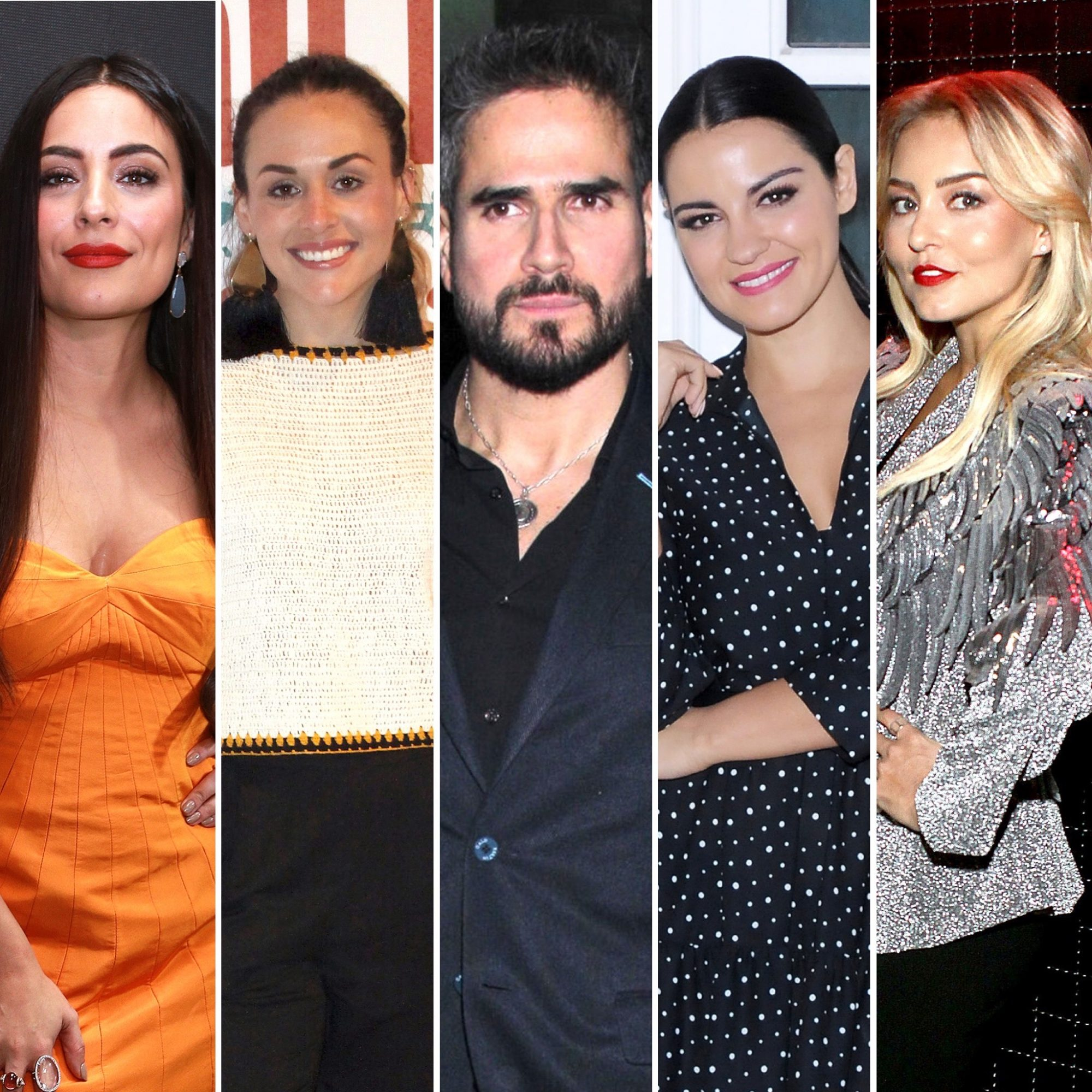 Daniel Arenas y sus parejas de telenovela