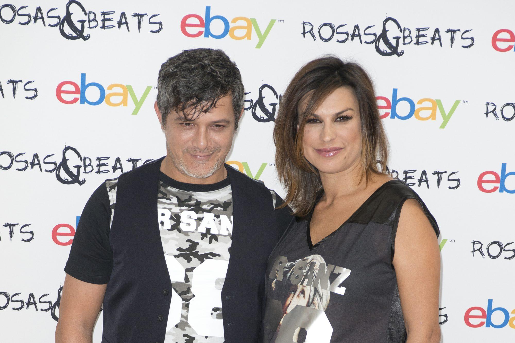 Alejandro Sanz y su ex Raquel Perera