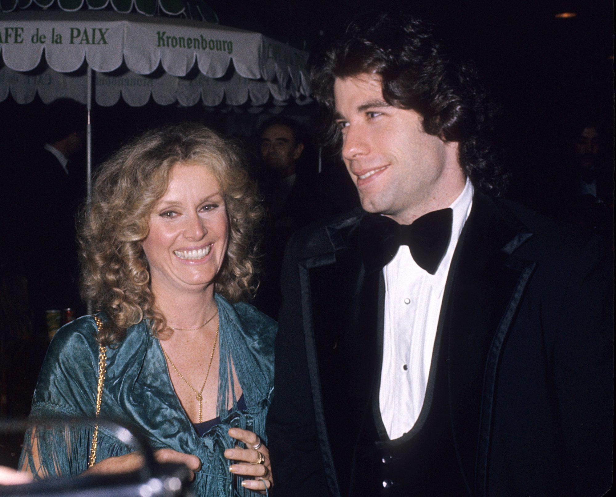 John Travolta and Diana Hyland