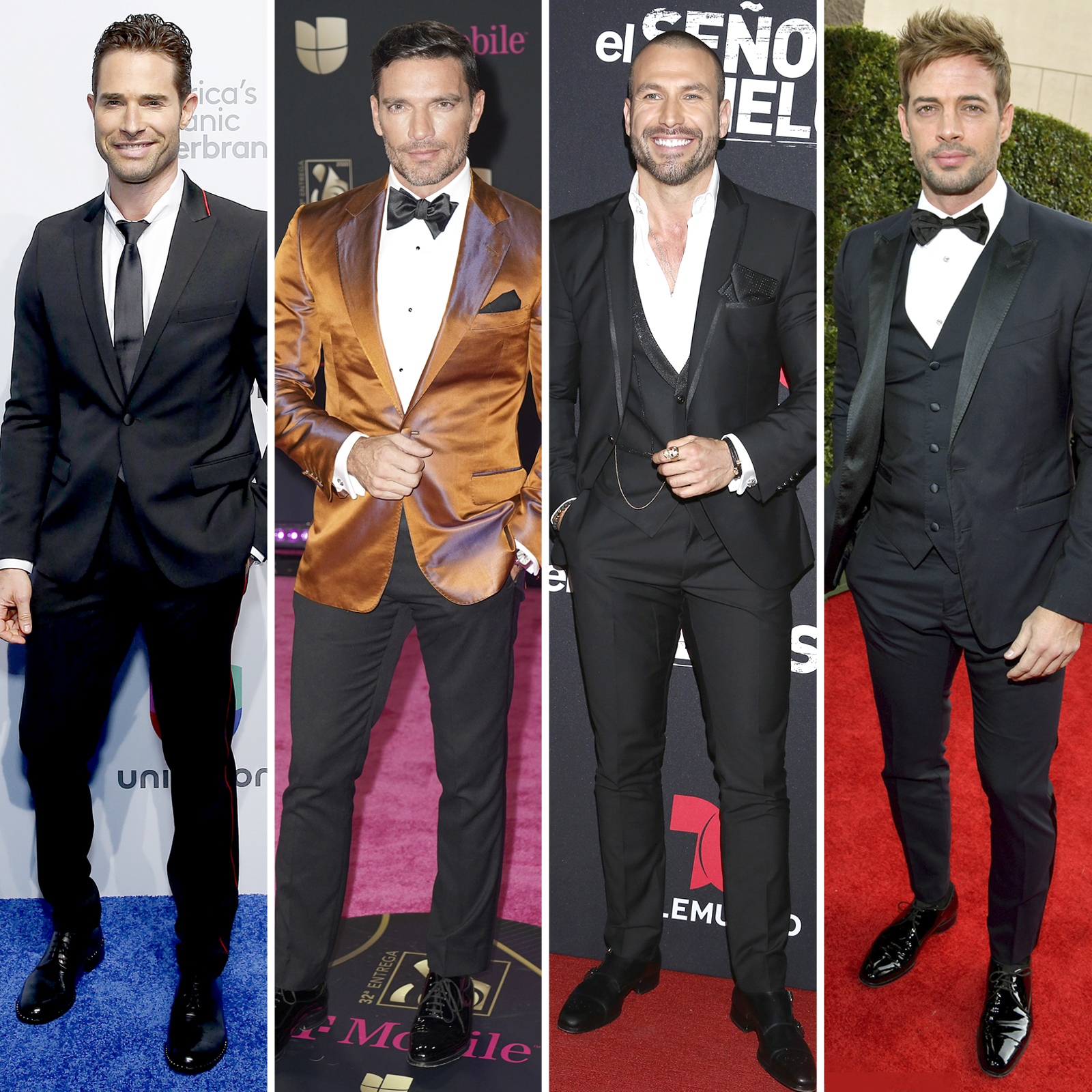 Sebastian Rulli; Julian Gil; Rafael Amaya; William Levy