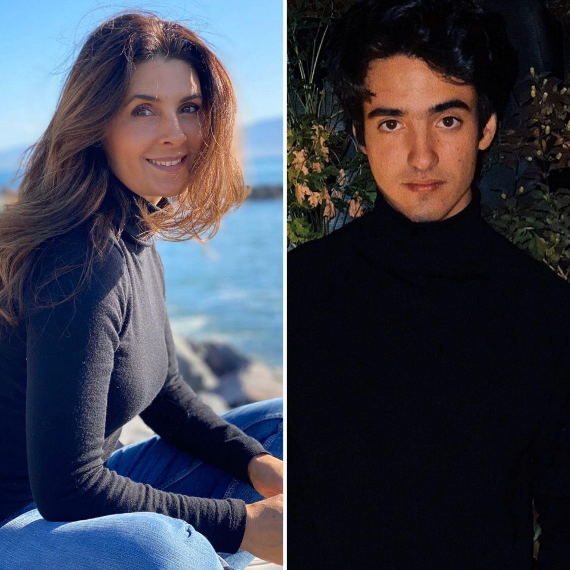 Hijo de Mayrín Villanueva felicita con romántico mensaje a su novia actriz