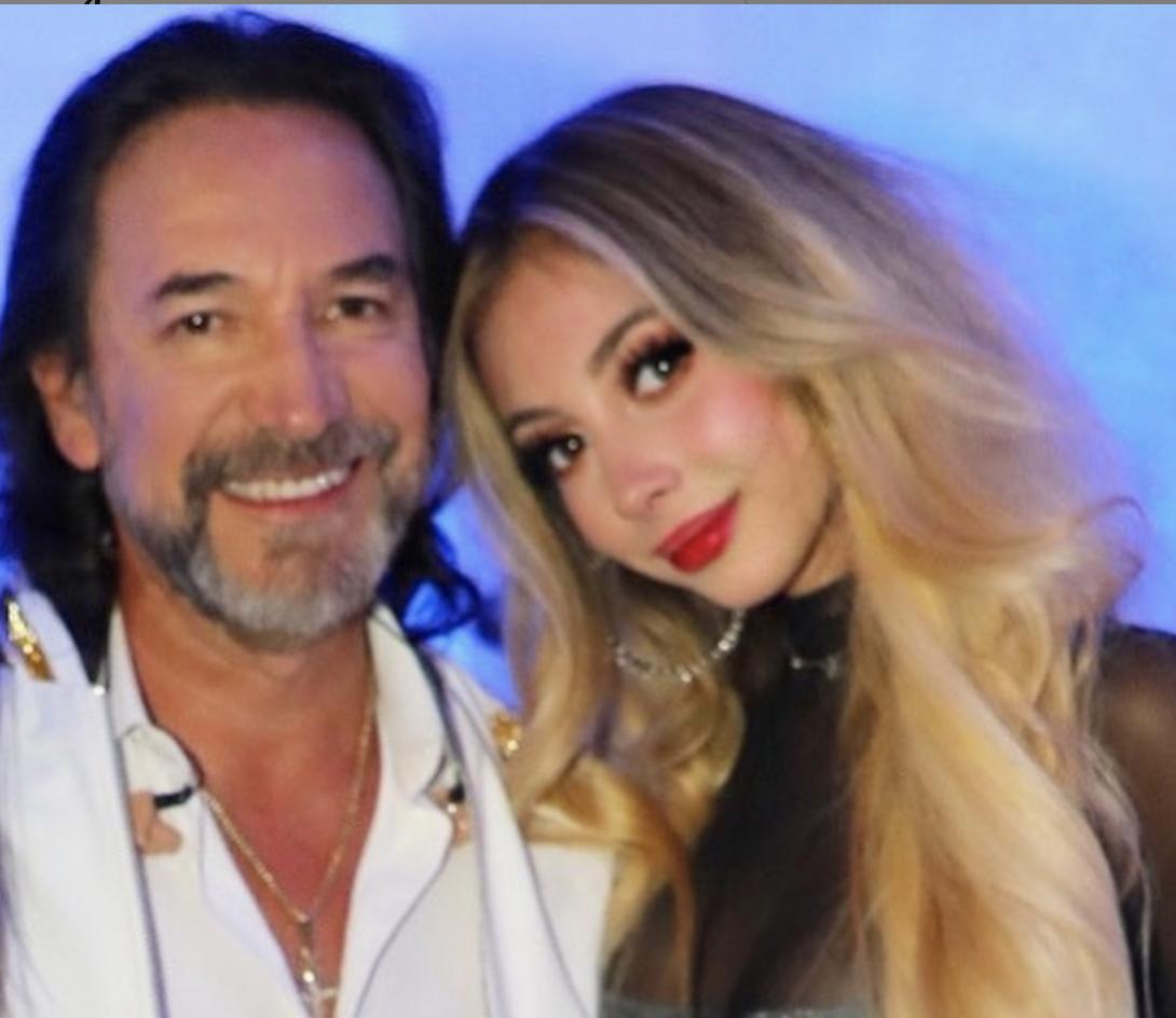 Marco Antonio Solís y su hija Marla Rachel Solís