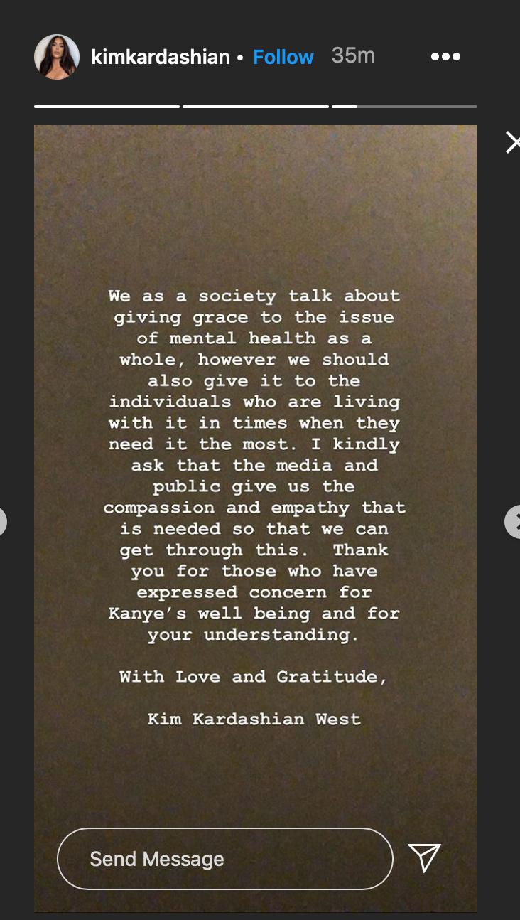 Kim Kardashian habla sobre Kanye West