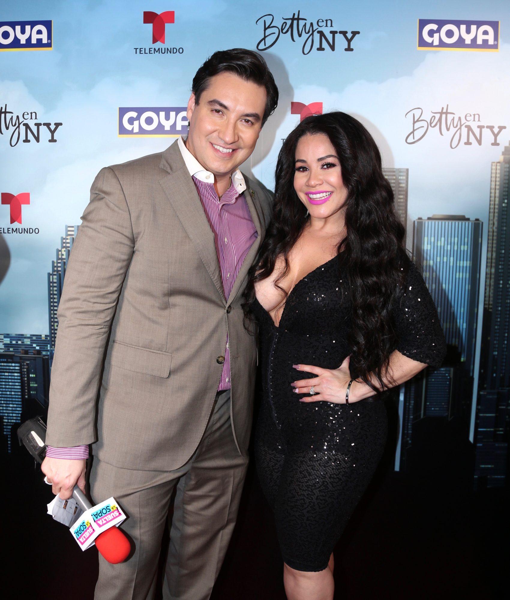 Carolina Sandoval y Luis Alfonso Borrego
