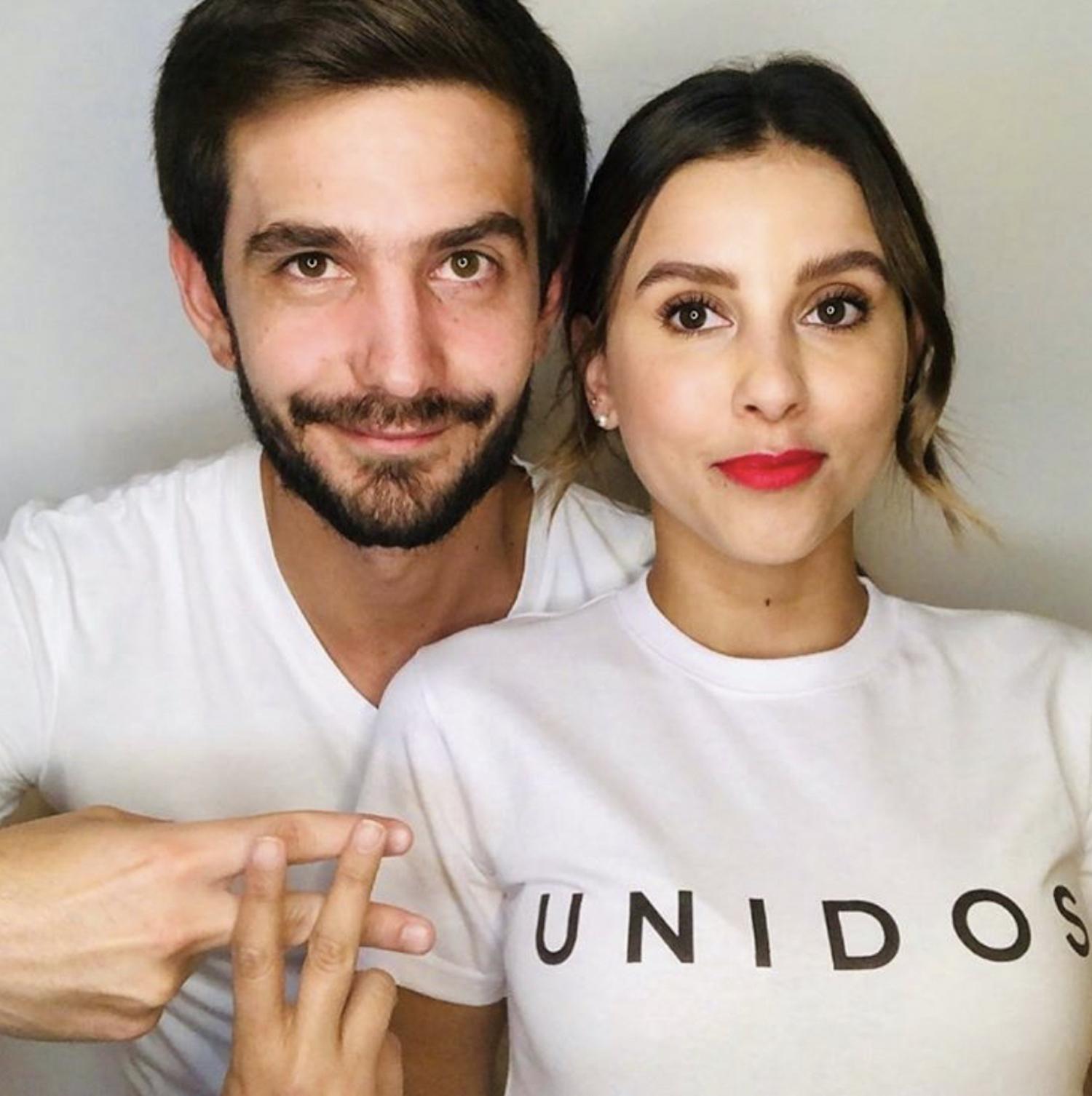 Rodrigo Saval y Paulina Goto