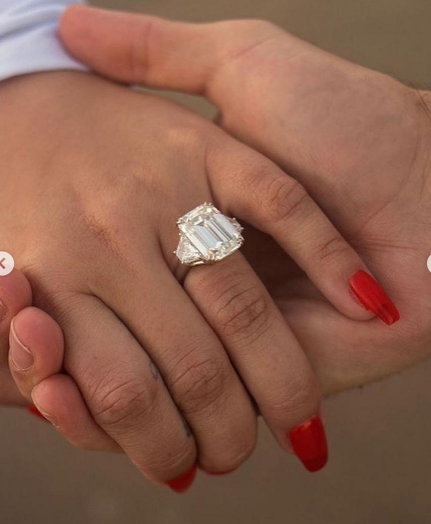 Demi Lovato, anillo de compromiso, precio