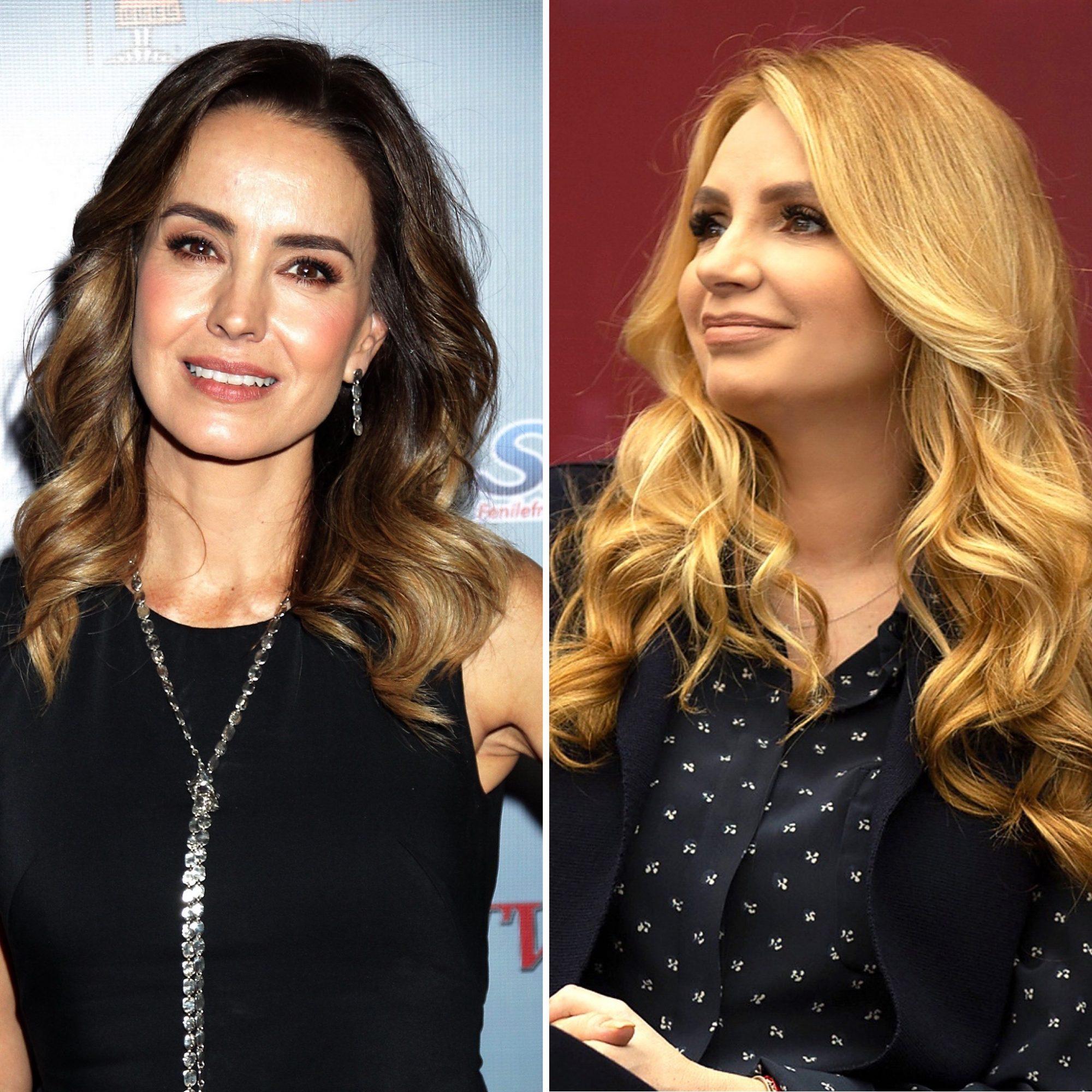 Alejandra Barros y Angélica Rivera