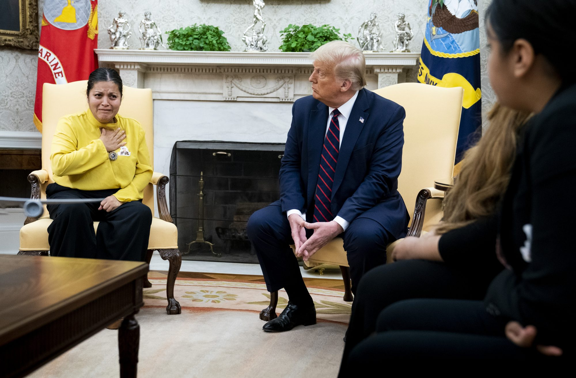 Vanessa Guillen family Donald Trump