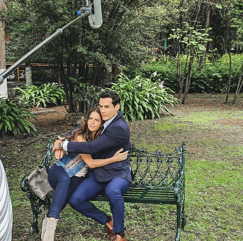 David Zepeda y Claudia Álvarez