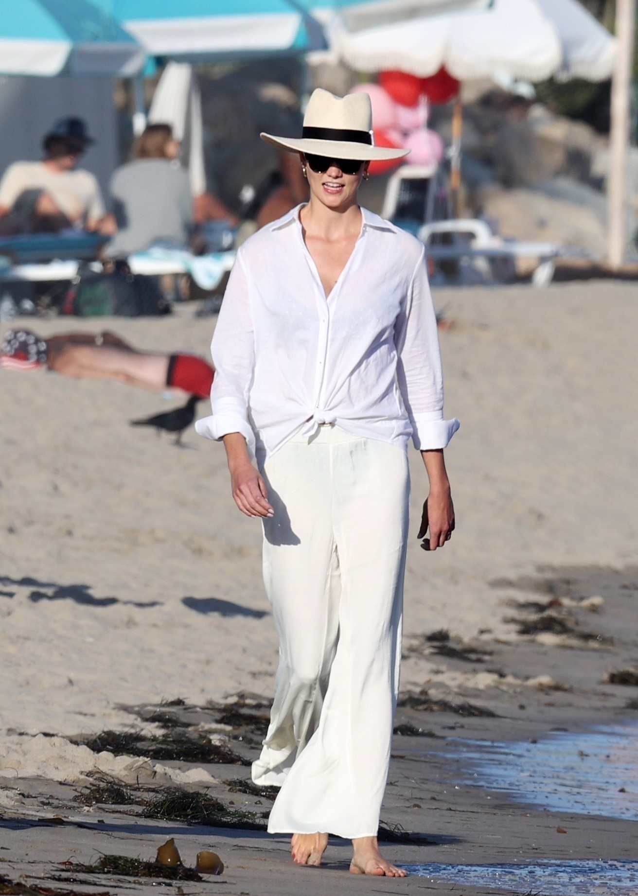 Karlie Kloss, look, playa, santa monica