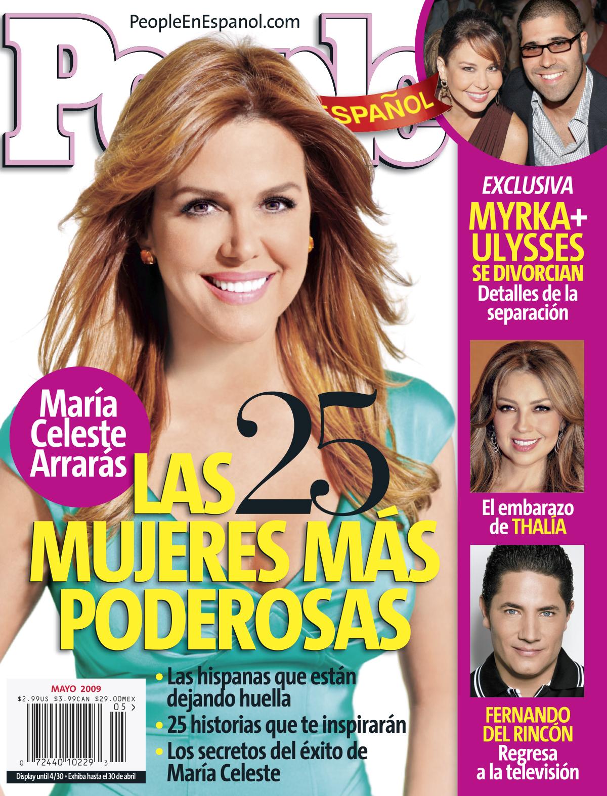 Maria Celeste Arraras Cover