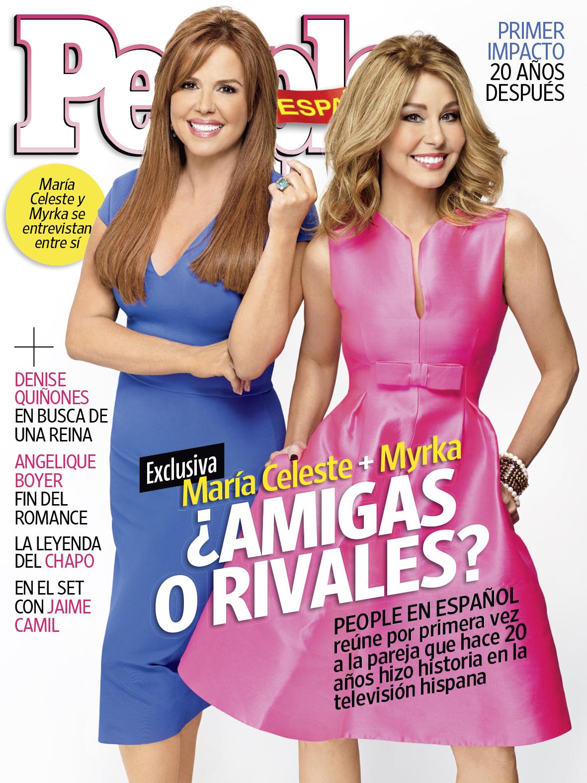 Maria Celeste Arraras y Myrka Dellanos Cover
