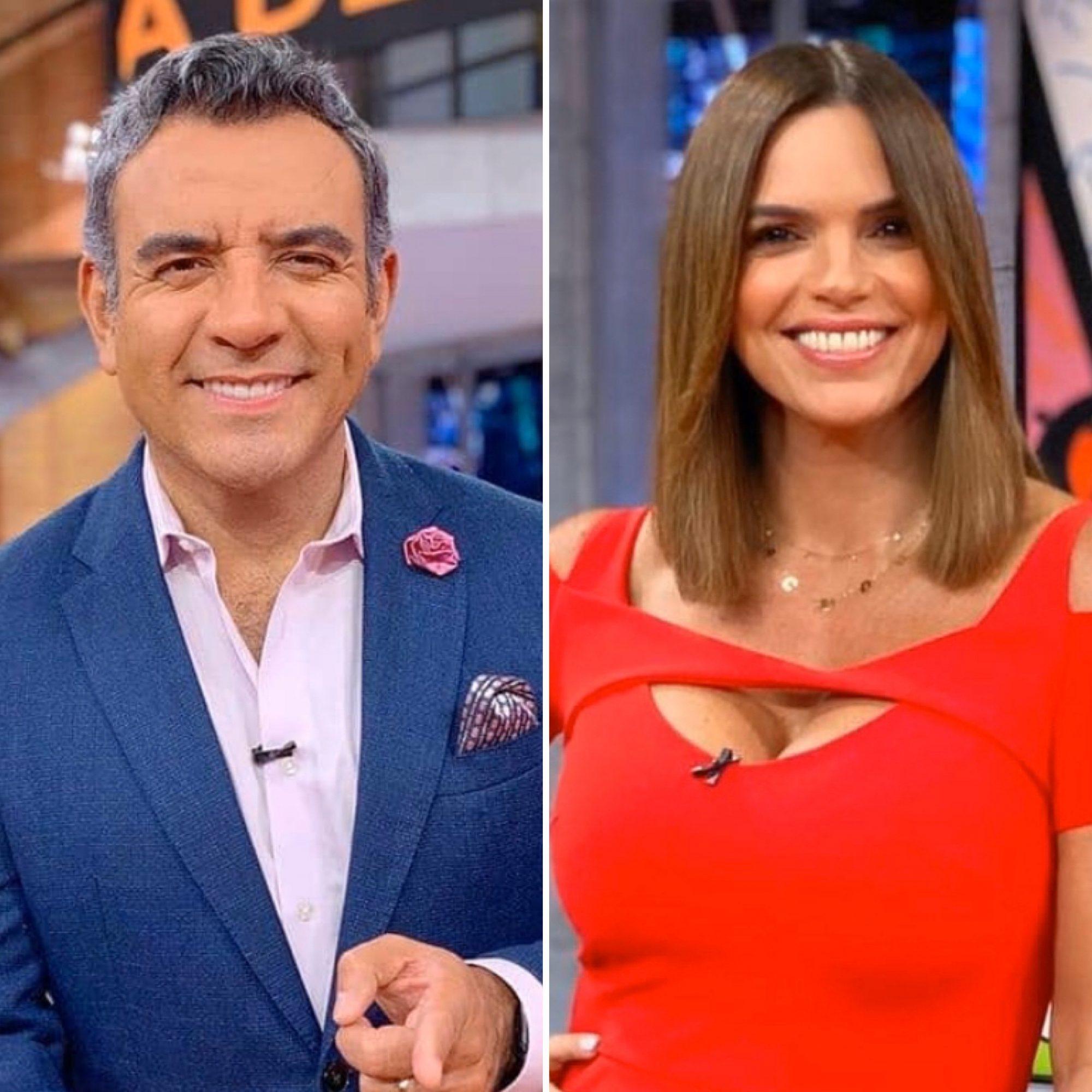 Héctor Sandarti y Rashel Díaz