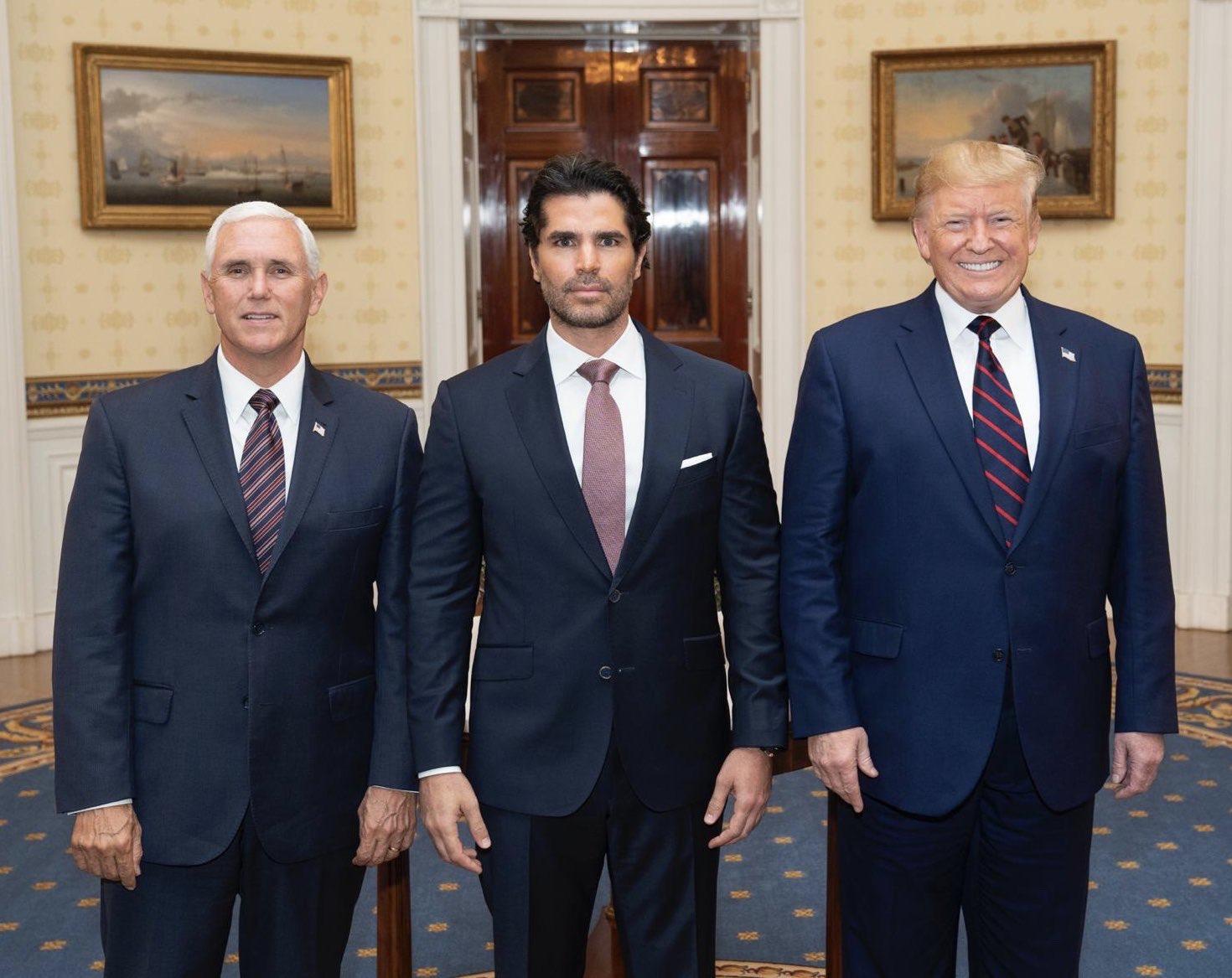Eduardo Verastegui Mike Pence Donald Trump